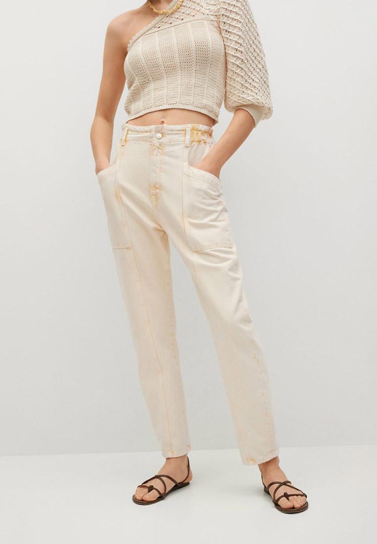 Женские зауженные брюки Mango (Манго) Брюки Mango