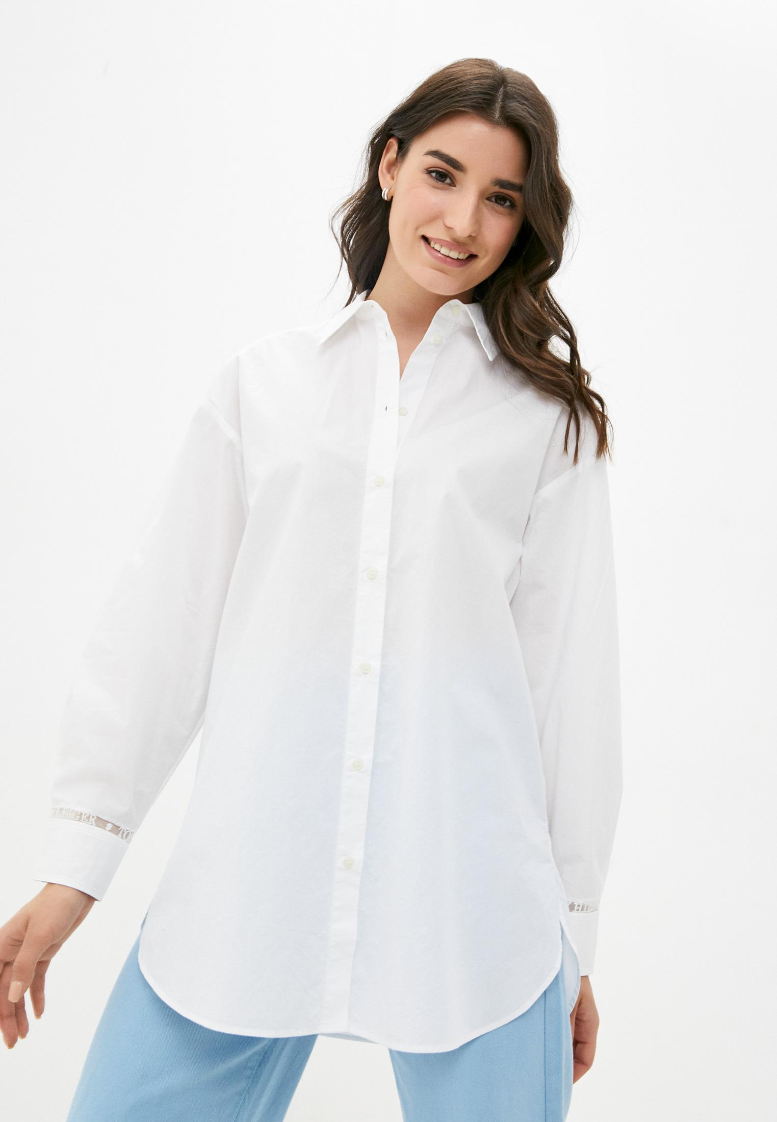 Женские рубашки с длинным рукавом Tommy Hilfiger (Томми Хилфигер) WW0WW32659