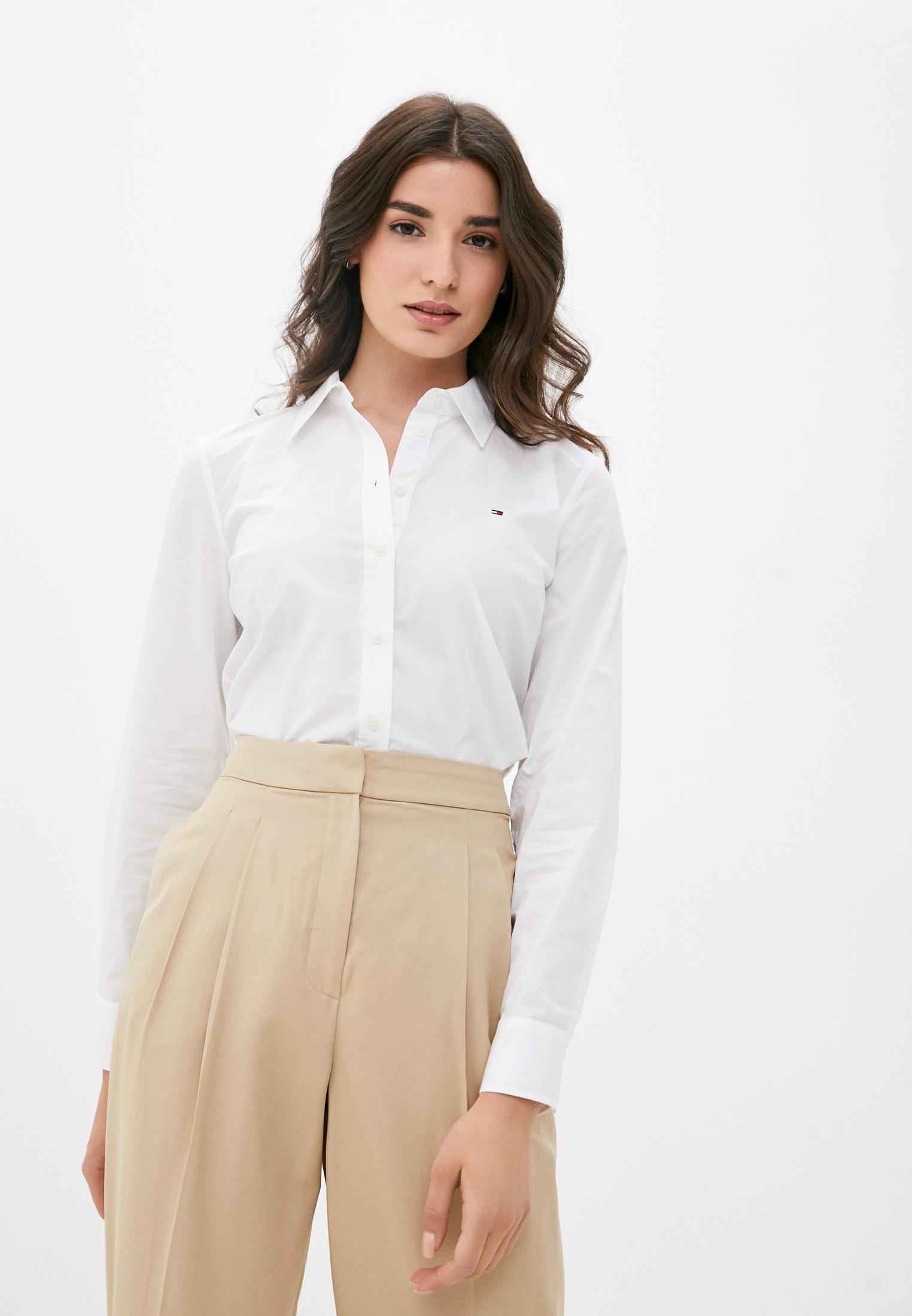 Женские рубашки с длинным рукавом Tommy Hilfiger (Томми Хилфигер) WW0WW32660