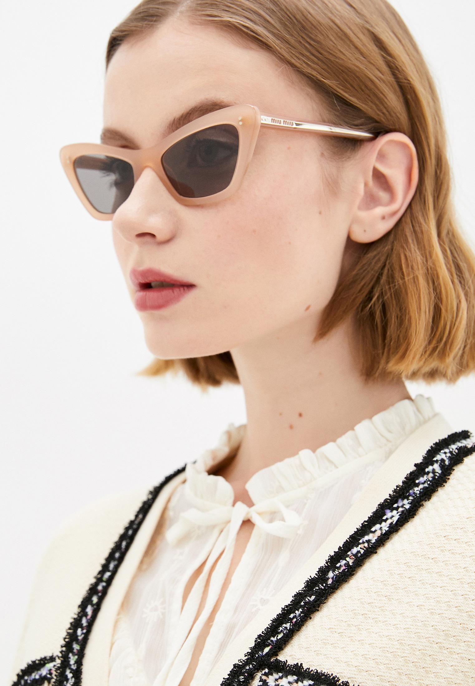 Женские солнцезащитные очки Miu Miu 0MU 03XS