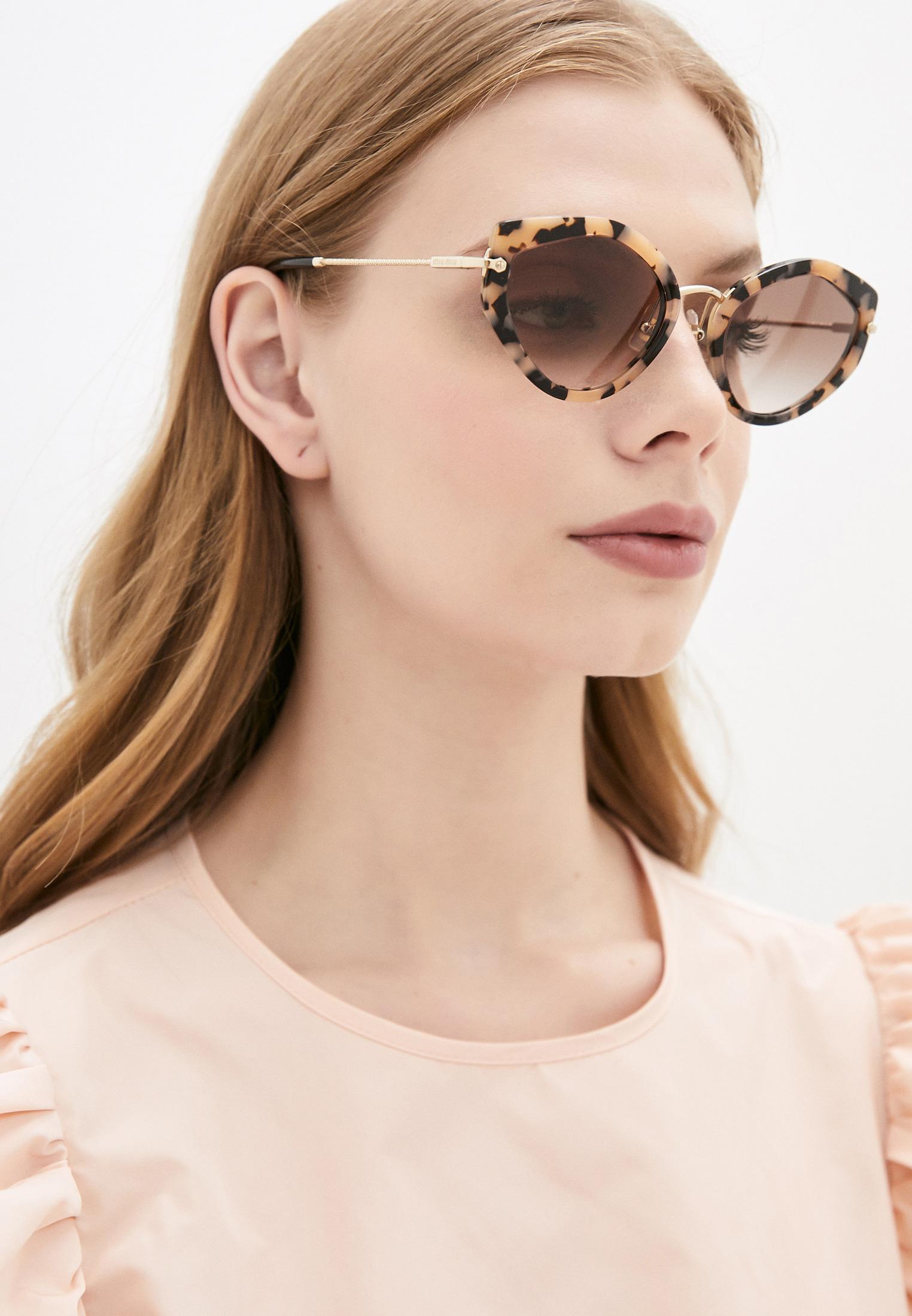 Женские солнцезащитные очки Miu Miu 0MU 08XS