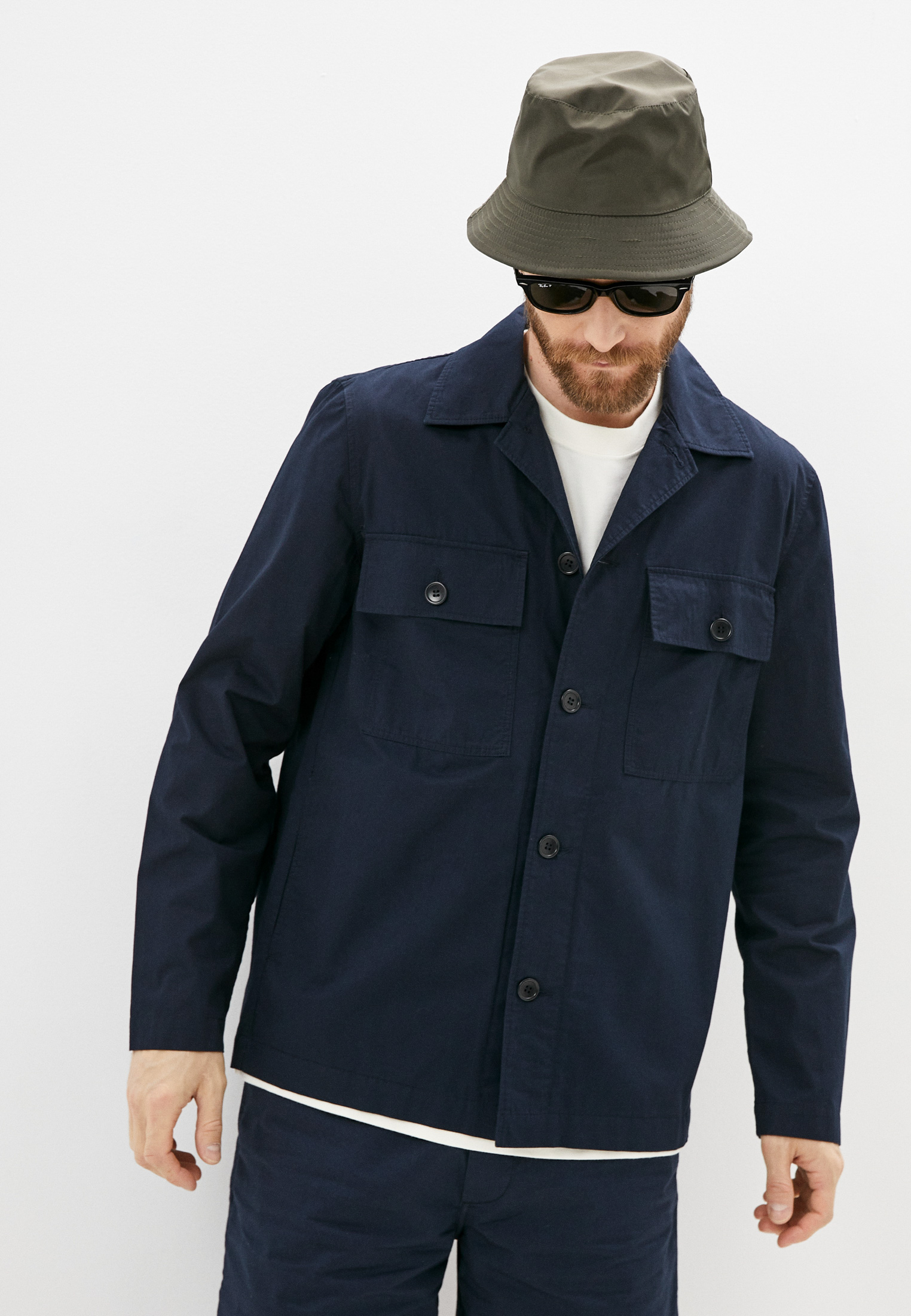 Рубашка с длинным рукавом Wood Wood 12115301-5241