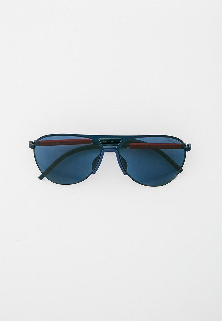 Мужские солнцезащитные очки Prada Linea Rossa 0PS 51XS