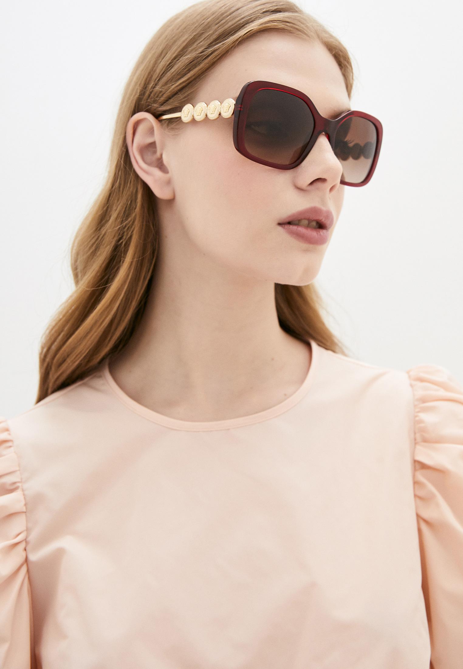 Женские солнцезащитные очки Versace Очки солнцезащитные Versace