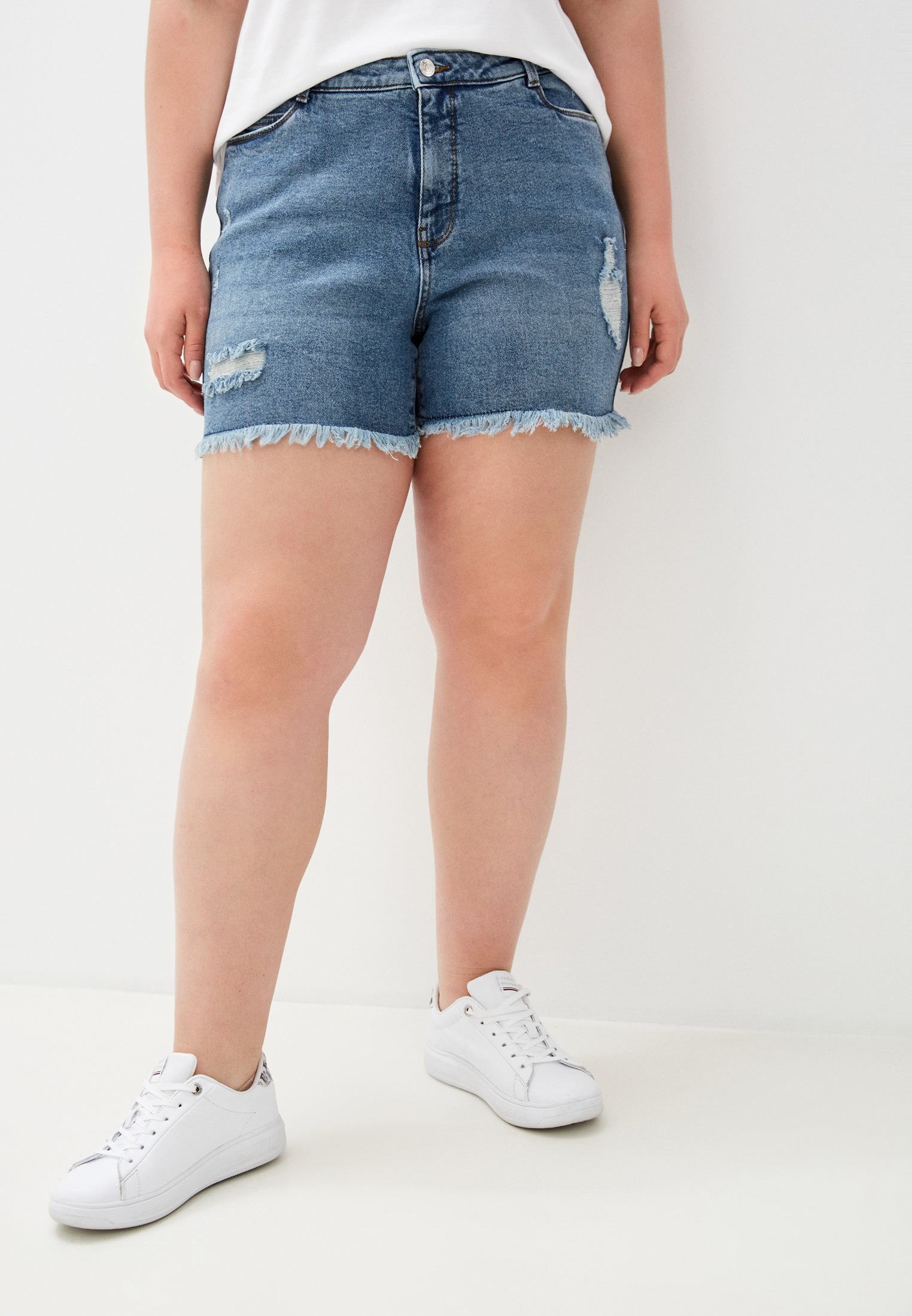 Женские шорты Vero Moda Curve Шорты джинсовые Vero Moda Curve