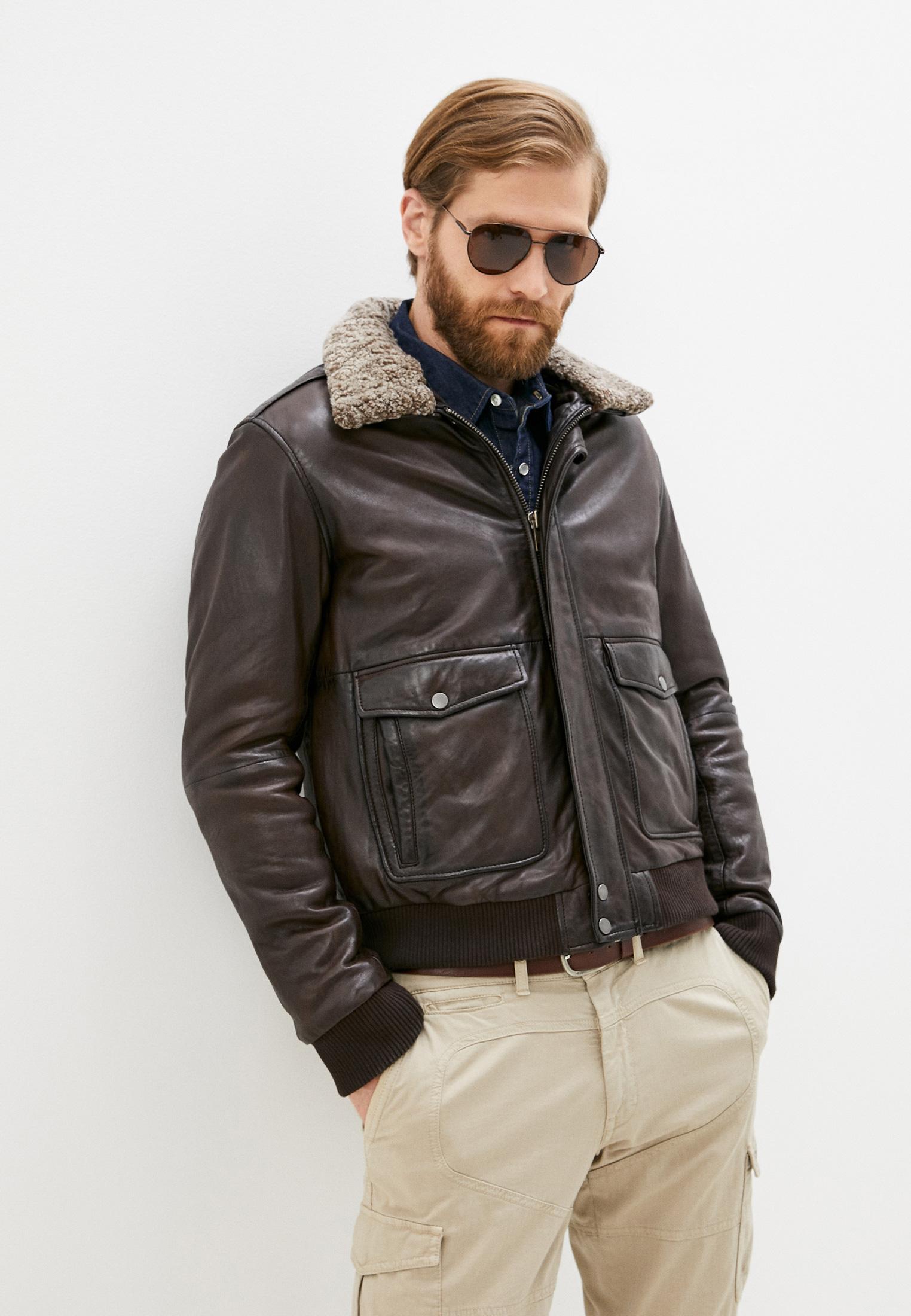 Кожаная куртка Serge Pariente PILOT