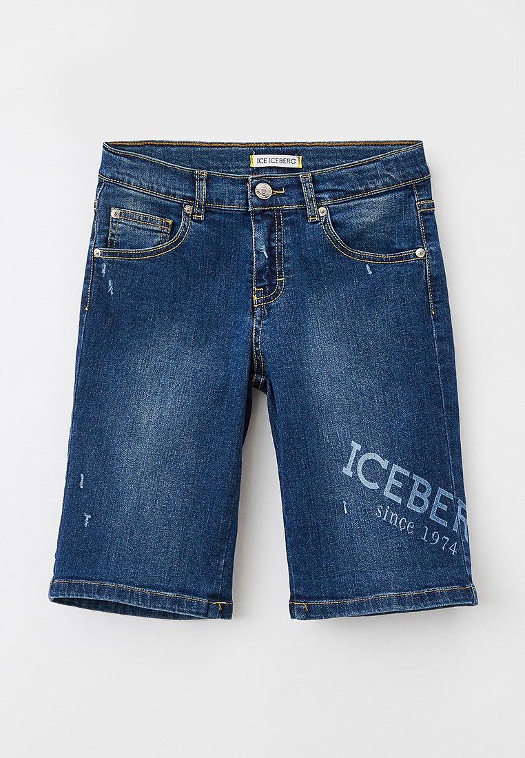 Шорты для мальчиков Ice Iceberg Шорты джинсовые Ice Iceberg