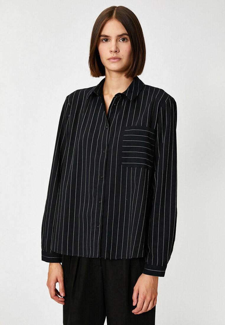 Женские рубашки с длинным рукавом Koton 9KAP68017PW