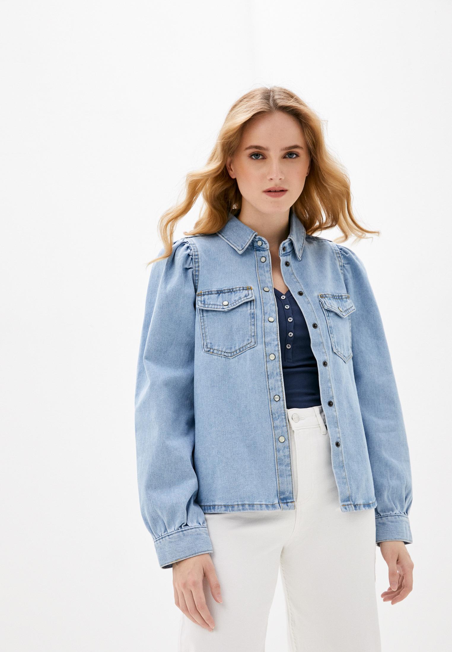 Женские джинсовые рубашки b.young Рубашка джинсовая b.young