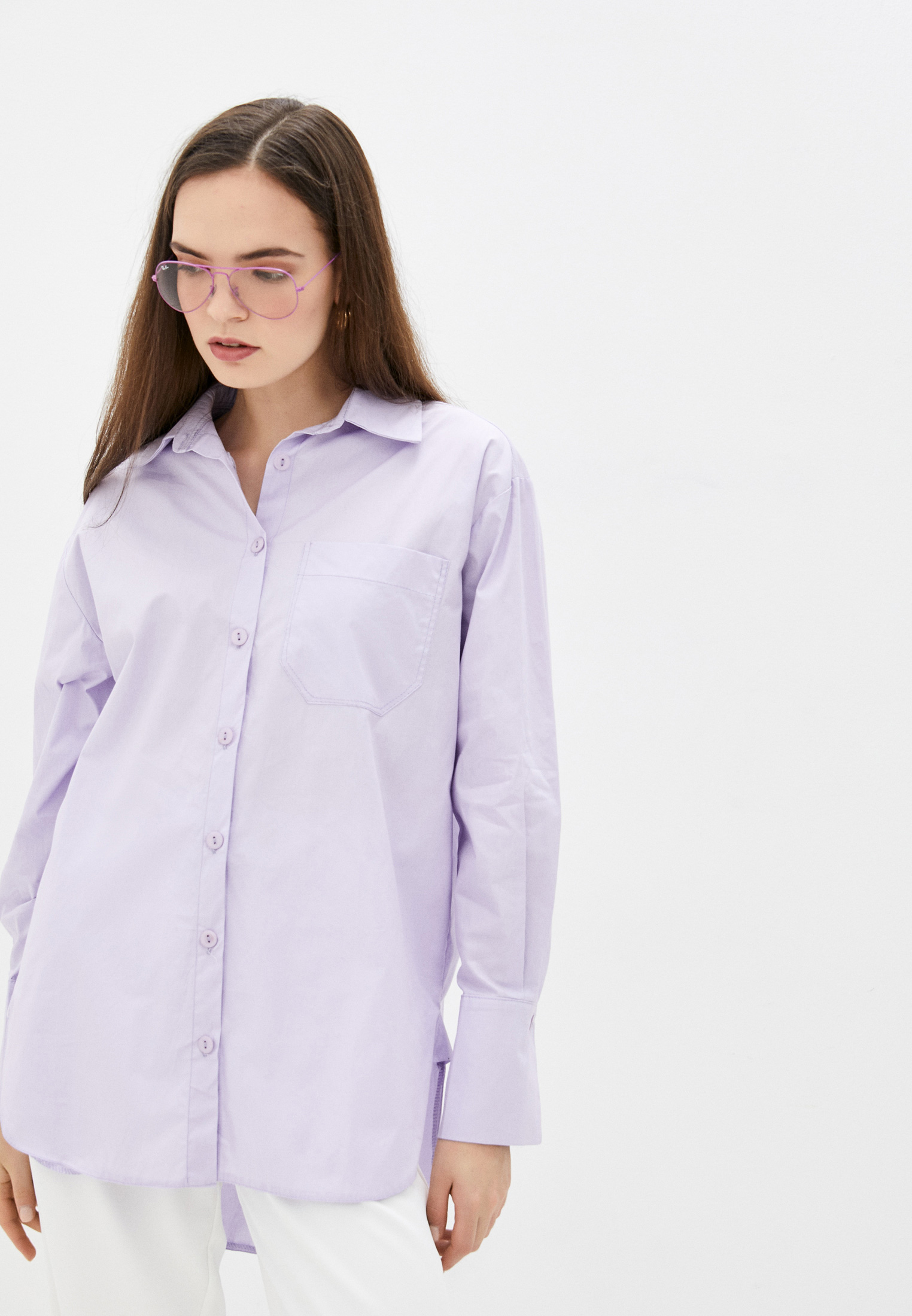 Женские рубашки с длинным рукавом Hey Look 102254