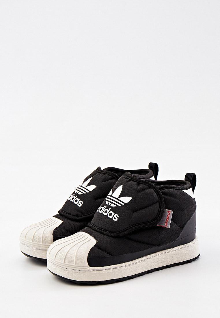 Кеды для мальчиков Adidas Originals (Адидас Ориджиналс) FV7266: изображение 2