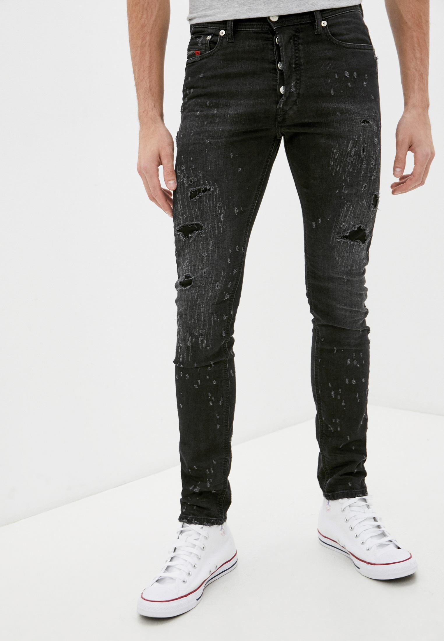 Мужские зауженные джинсы Diesel (Дизель) 00CKRH069FA
