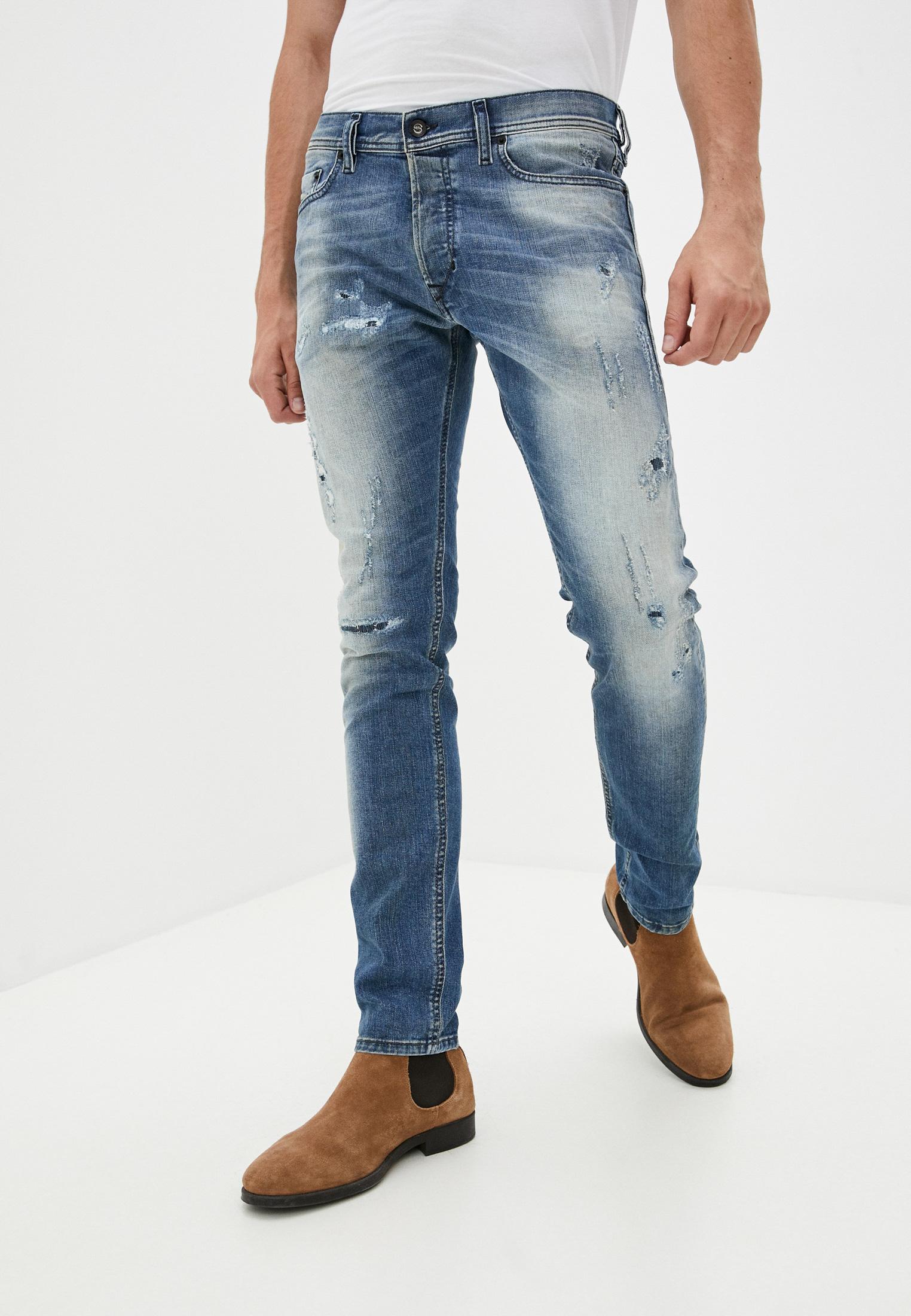 Мужские зауженные джинсы Diesel (Дизель) 00CKRI0854Z