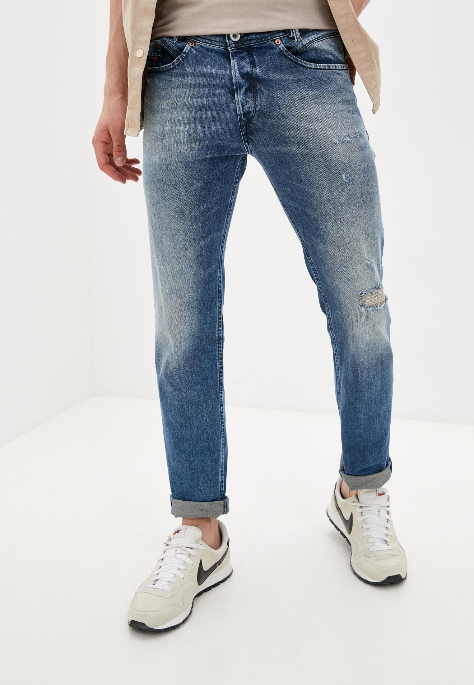 Мужские зауженные джинсы Diesel (Дизель) 00CLXDR8Q1A