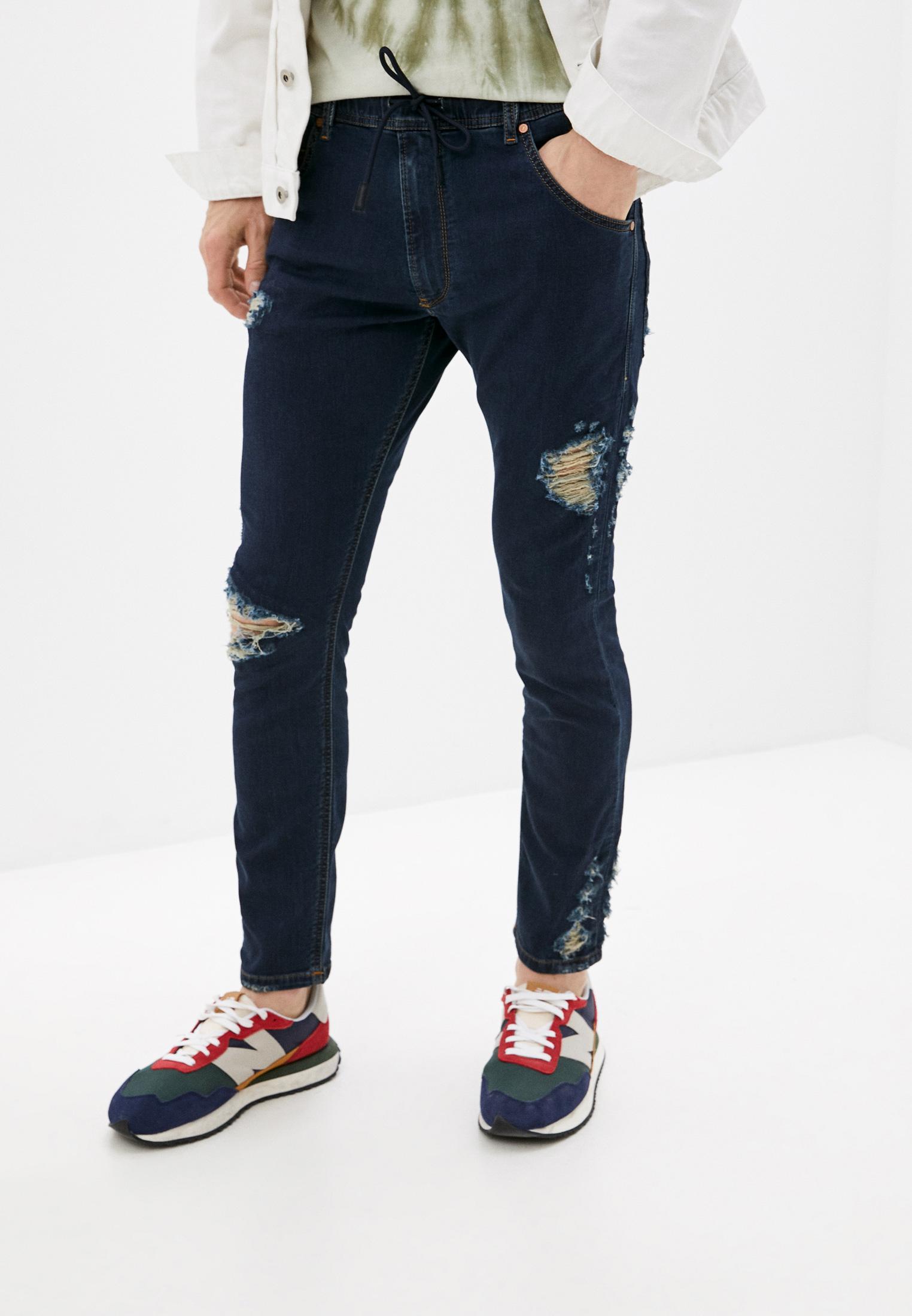 Мужские зауженные джинсы Diesel (Дизель) 00CYKI069AR