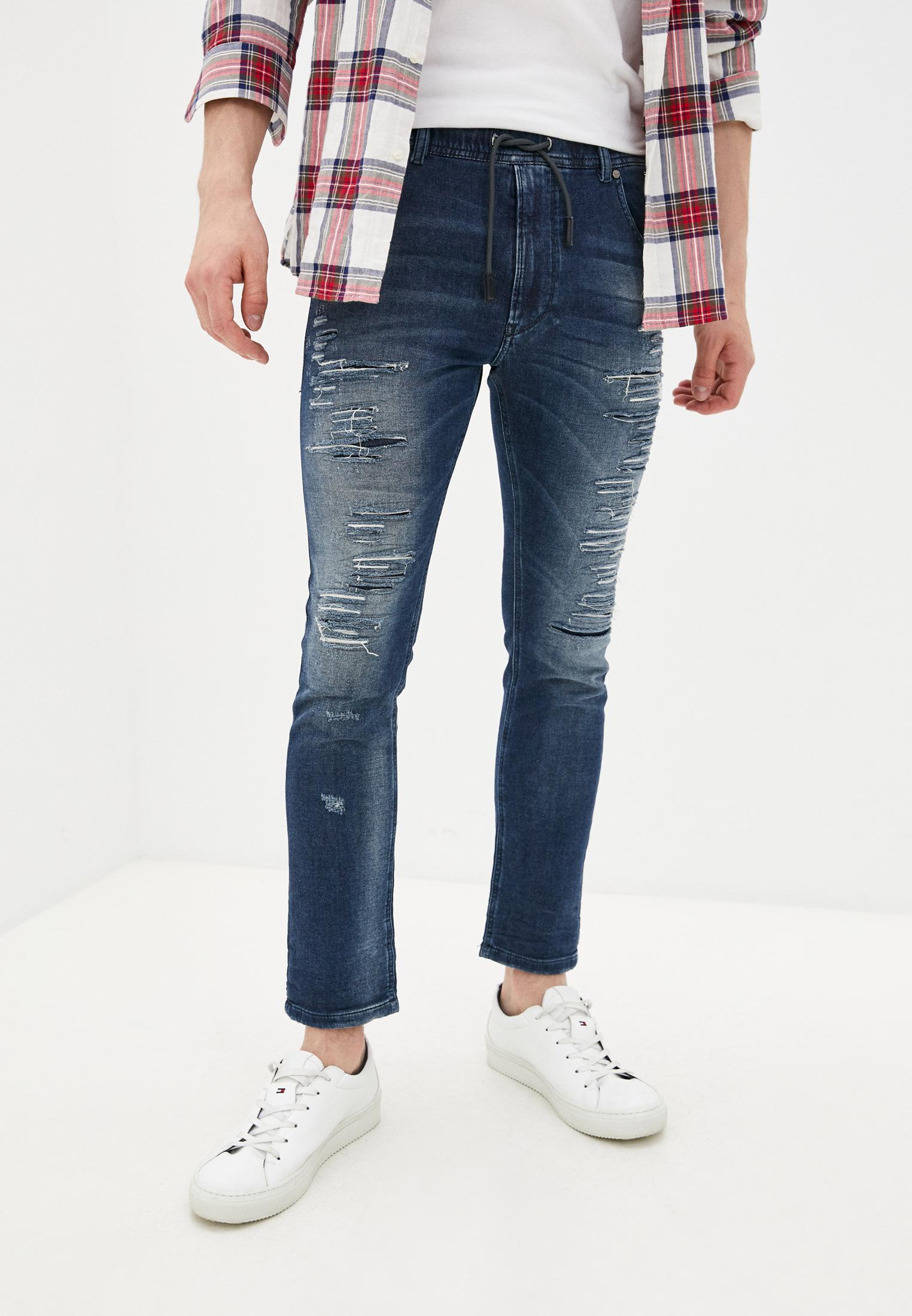 Мужские зауженные джинсы Diesel (Дизель) 00S6DD084PE