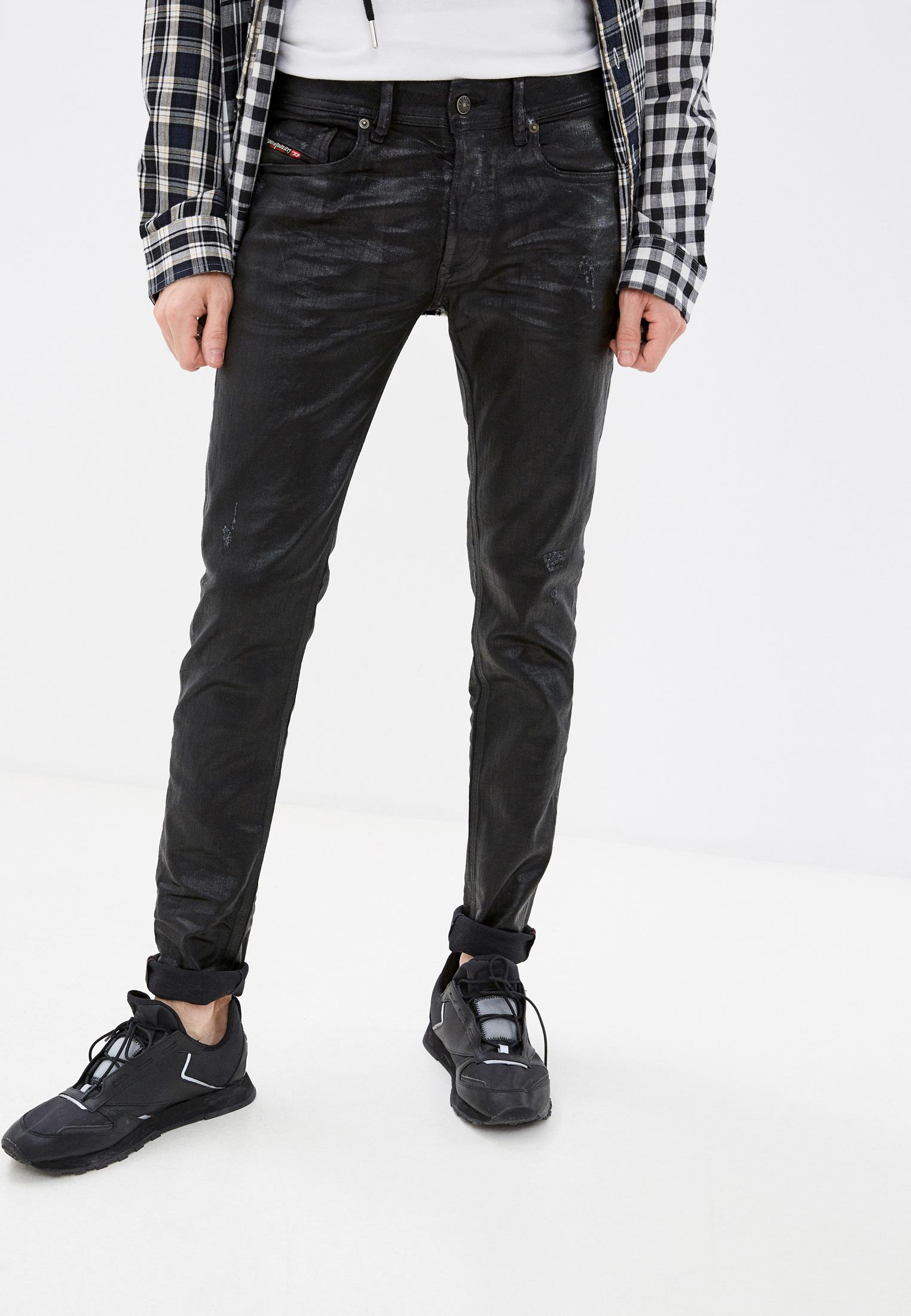 Мужские зауженные джинсы Diesel (Дизель) 00S0740091F