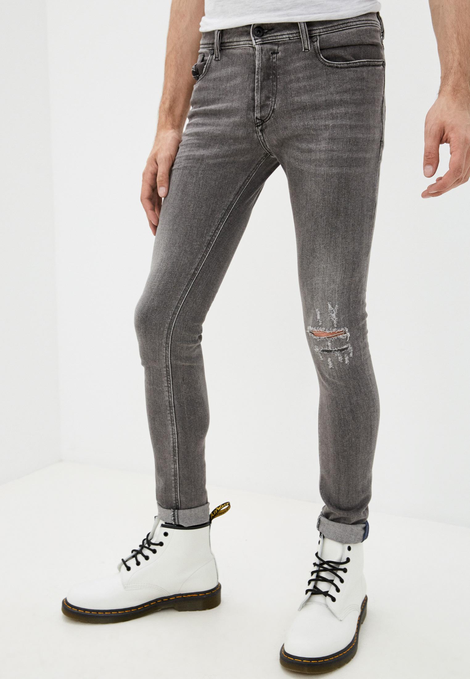 Мужские зауженные джинсы Diesel (Дизель) 00S7VG084GT