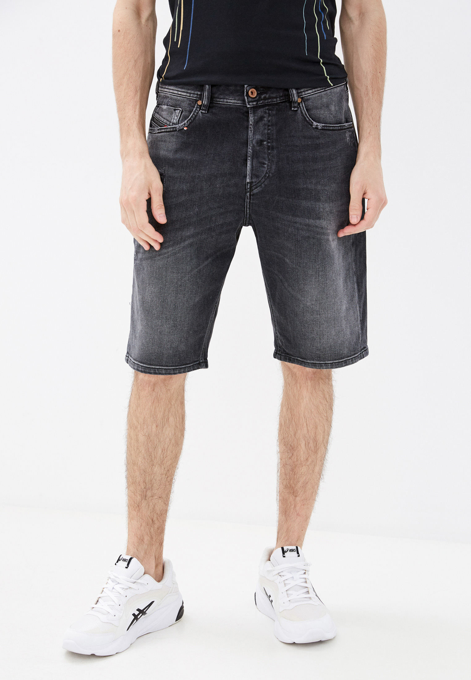 Мужские джинсовые шорты Diesel (Дизель) 00SD3VR930L