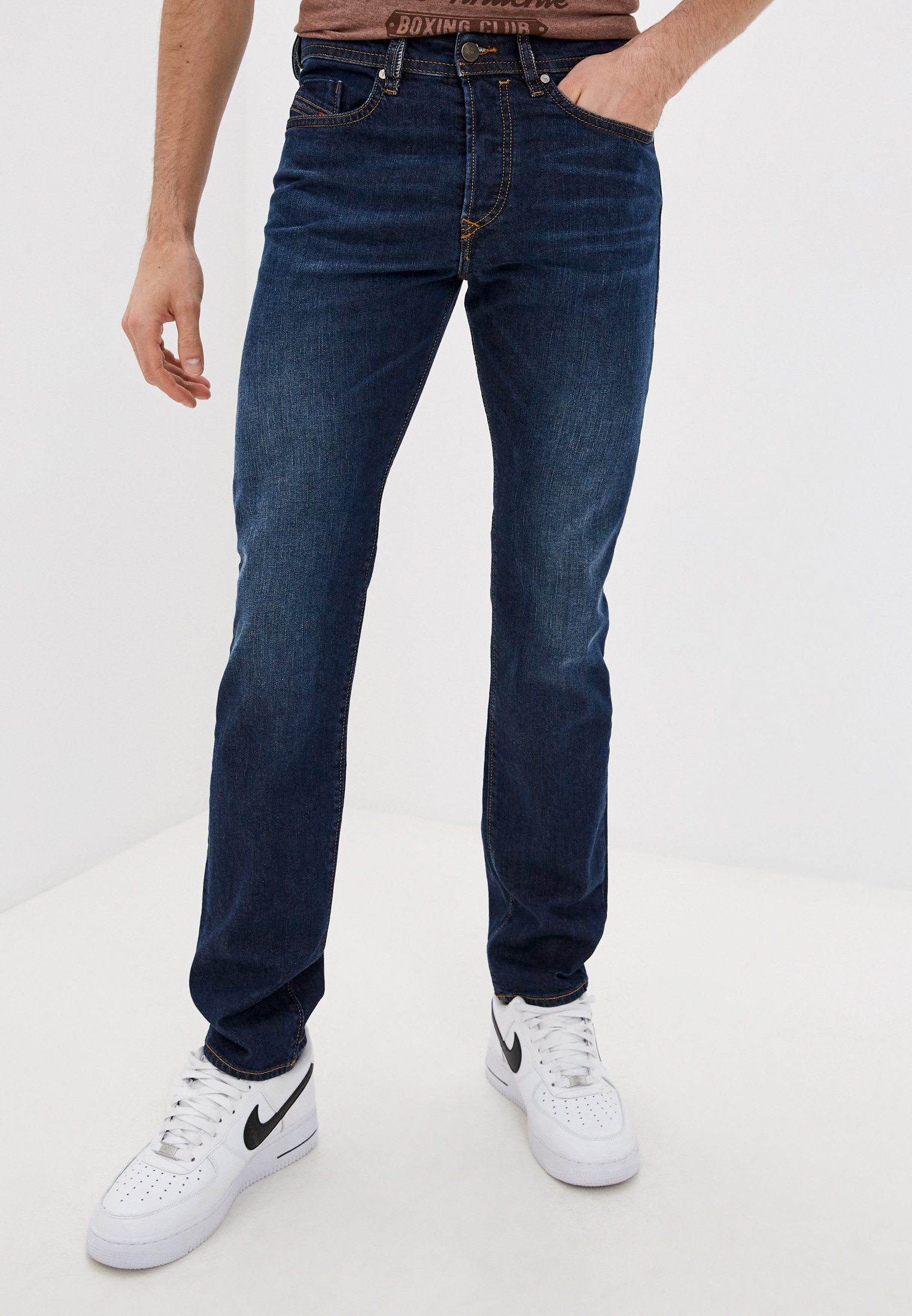 Мужские зауженные джинсы Diesel (Дизель) 00SDHB084XH
