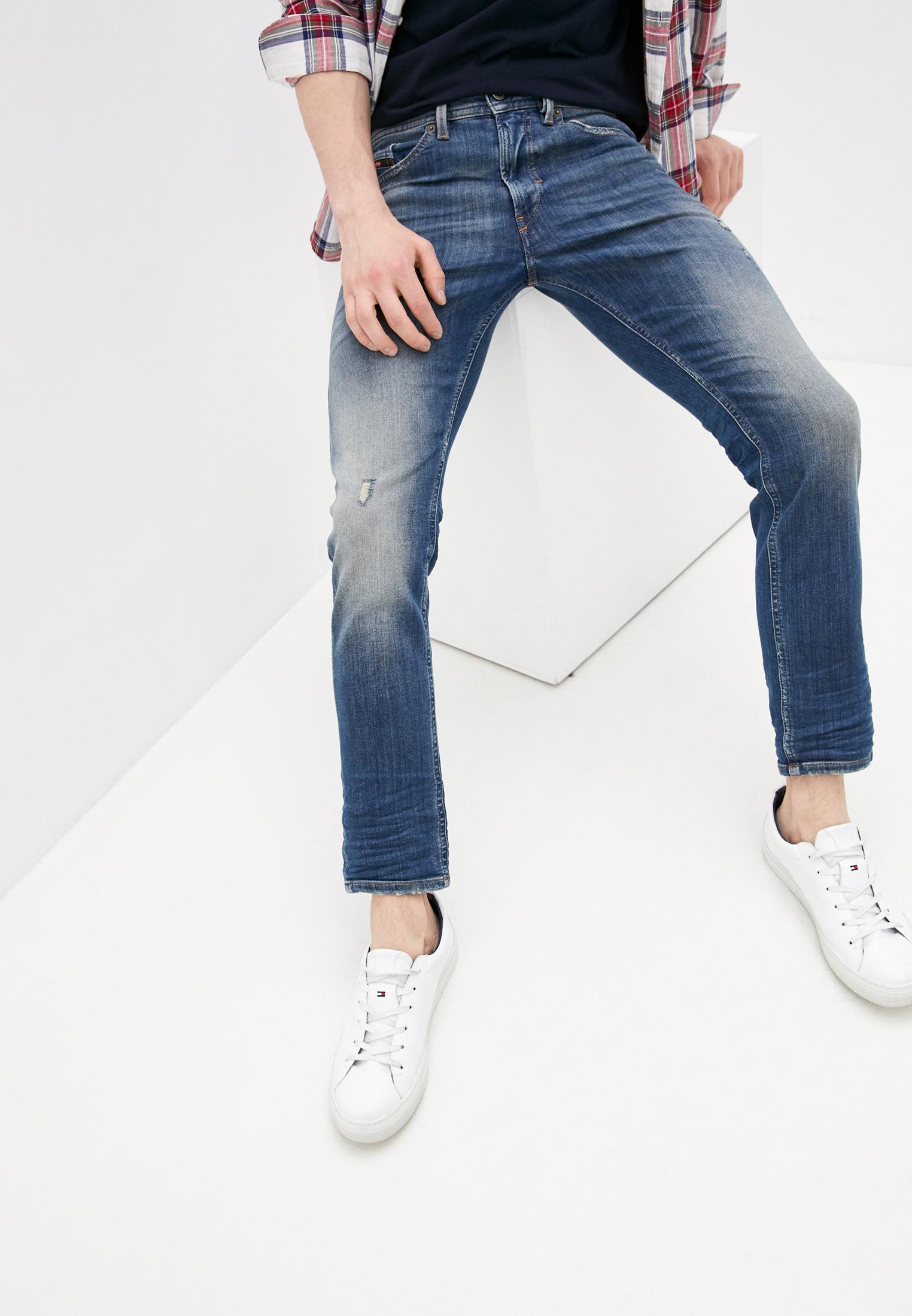 Мужские зауженные джинсы Diesel (Дизель) 00SE3D0870M