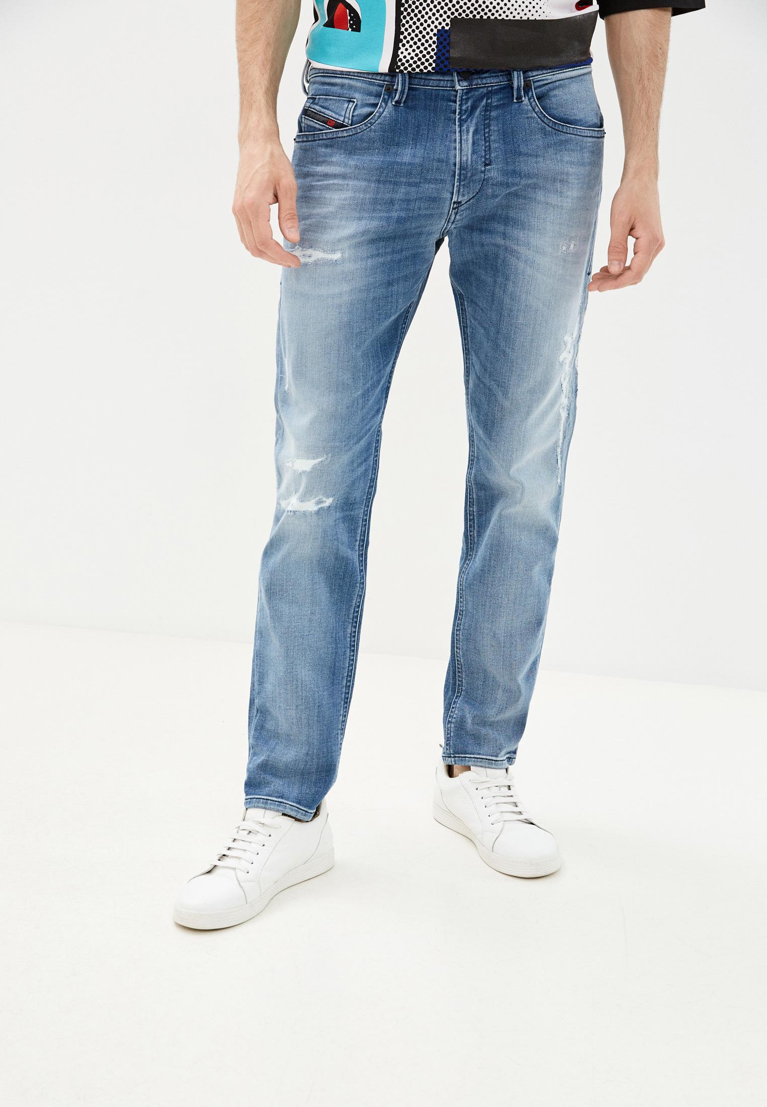 Мужские зауженные джинсы Diesel (Дизель) 00SE3D8880T