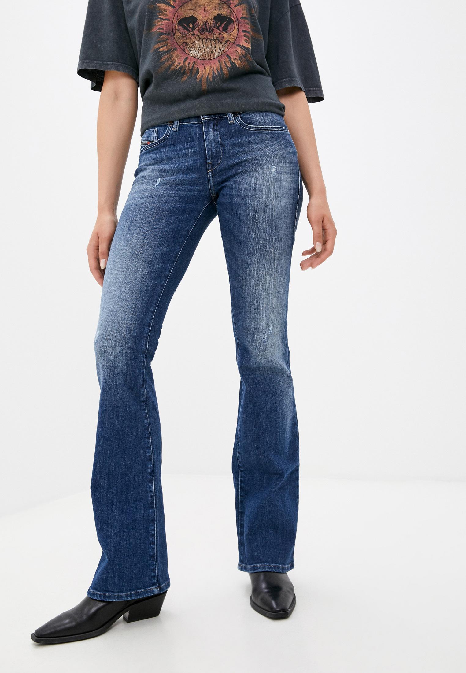 Широкие и расклешенные джинсы Diesel (Дизель) 00SRIK084QJ