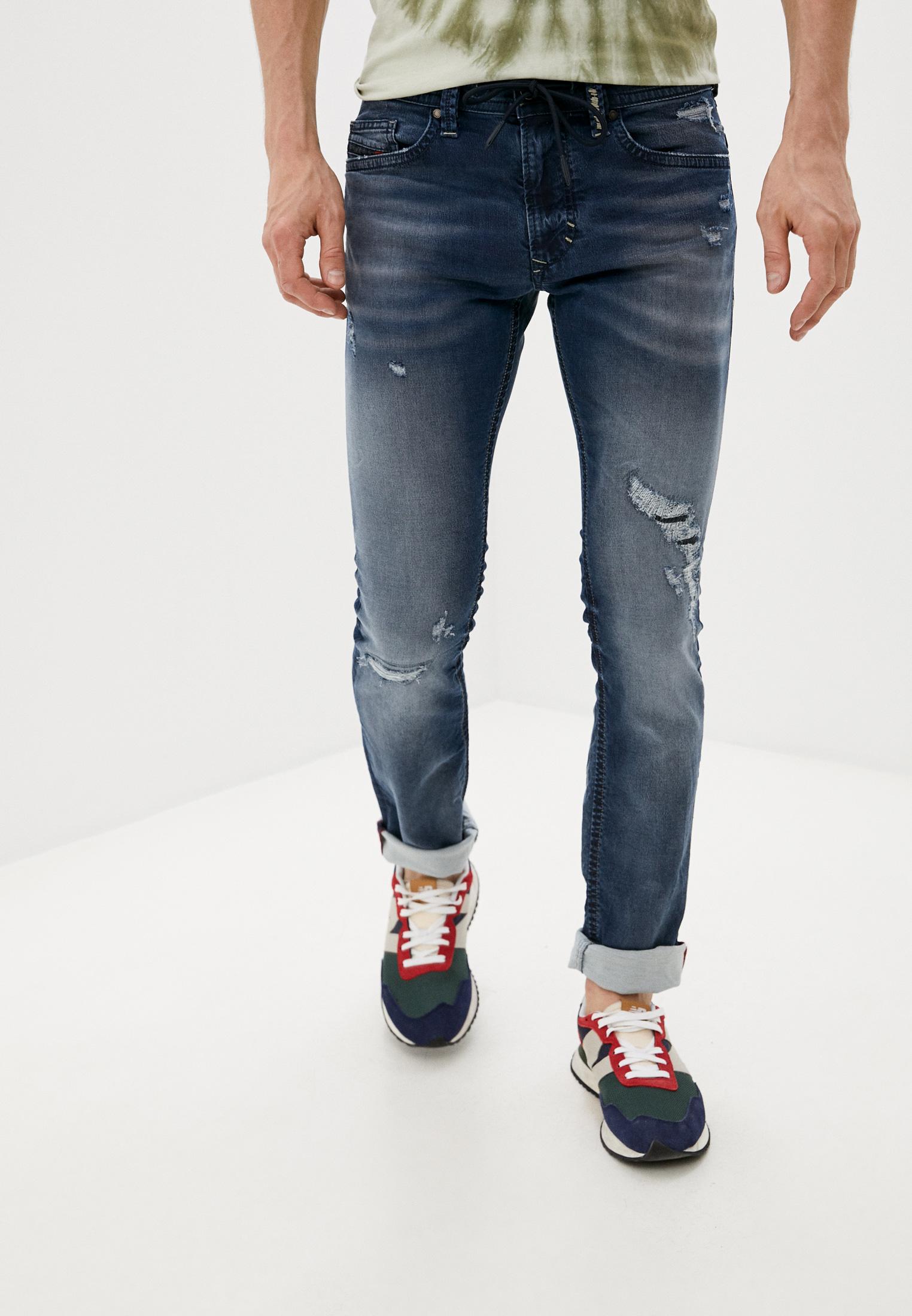 Мужские зауженные джинсы Diesel (Дизель) 00SNKA0684W