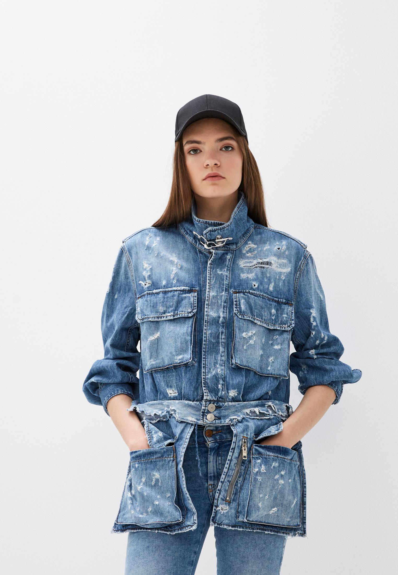 Джинсовая куртка Diesel (Дизель) 00SUHX069HL