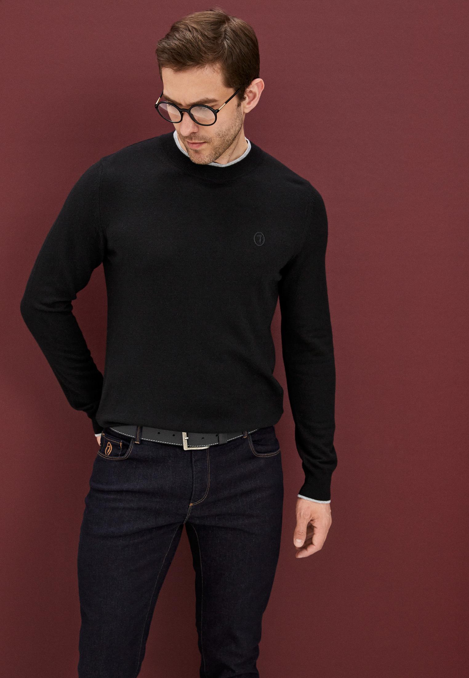 Мужские зауженные джинсы Trussardi (Труссарди) 52J00000-1Y000186