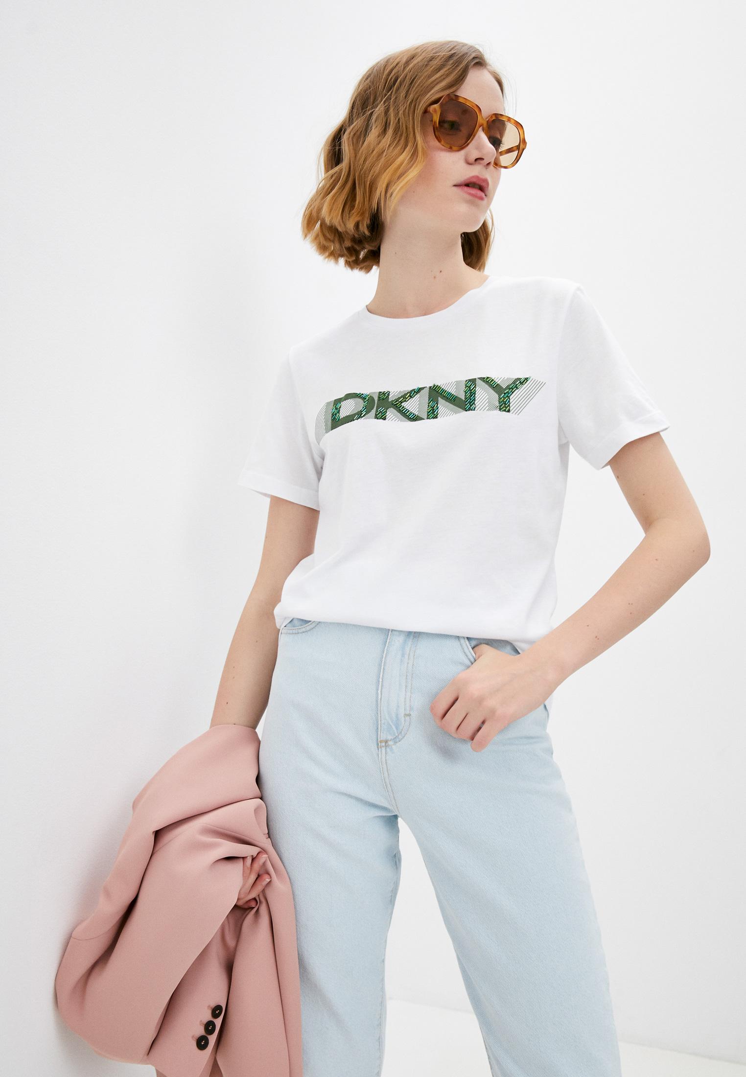 Футболка с коротким рукавом DKNY P0FATCNA
