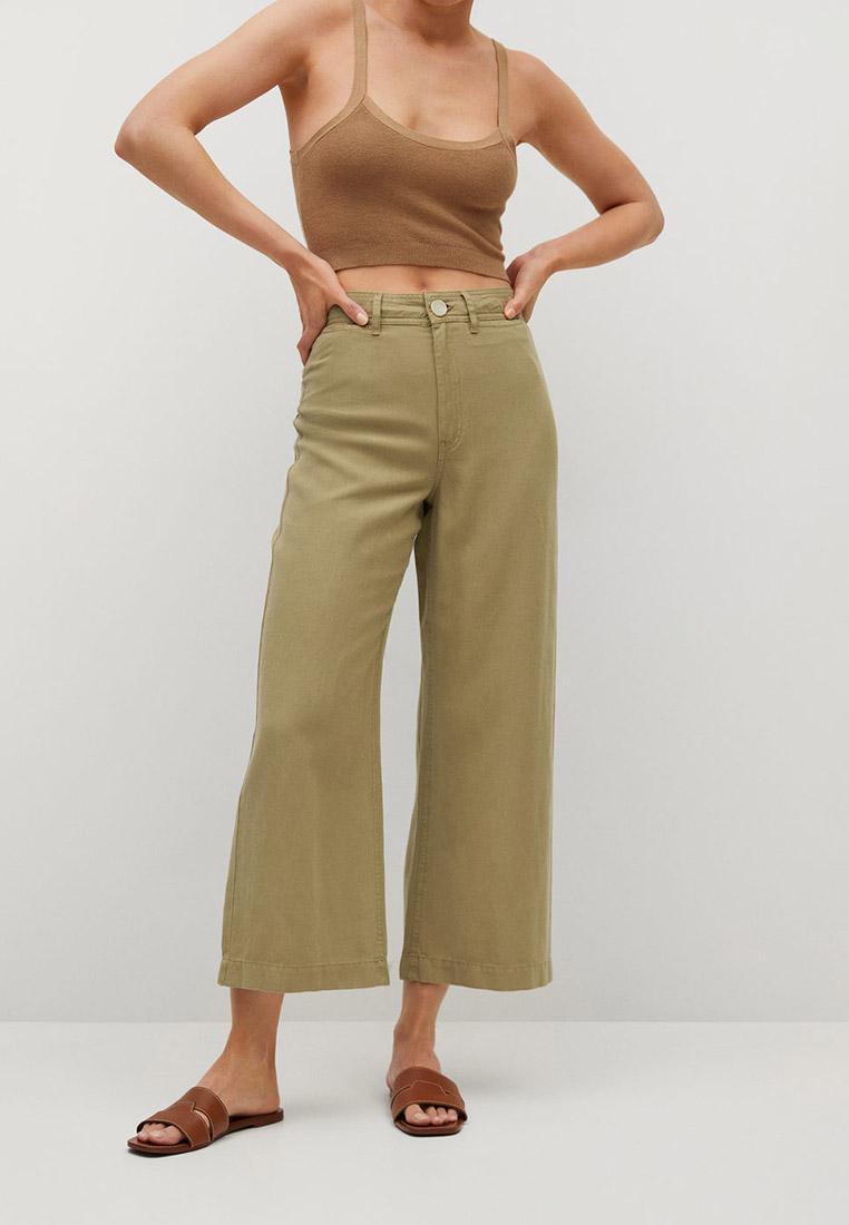 Женские широкие и расклешенные брюки Mango (Манго) 87098630: изображение 1