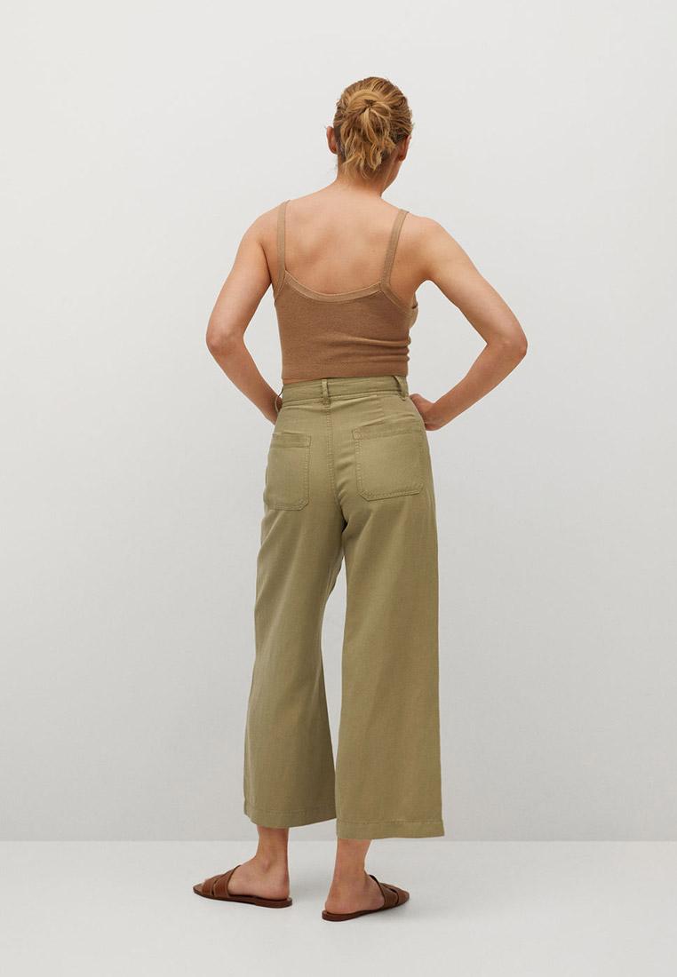 Женские широкие и расклешенные брюки Mango (Манго) 87098630: изображение 2