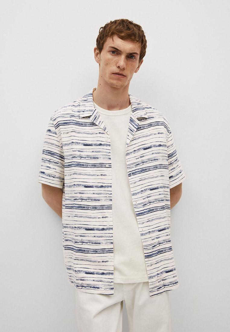 Рубашка с длинным рукавом Mango Man 87066333