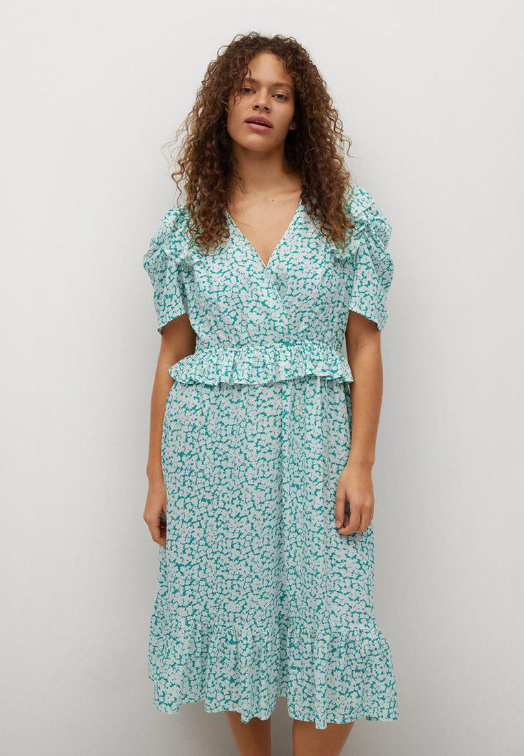 Повседневное платье Violeta by Mango (Виолетта бай Манго) 87007110