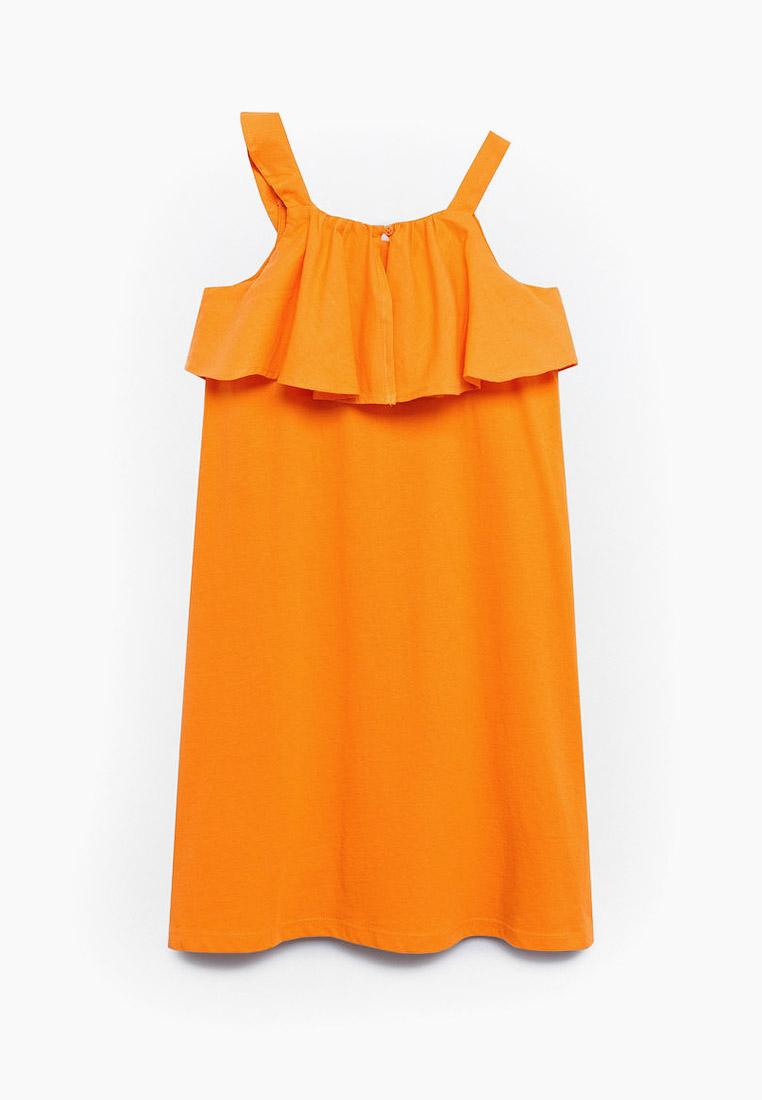 Повседневное платье Mango Kids (Манго Кидс) 87077643