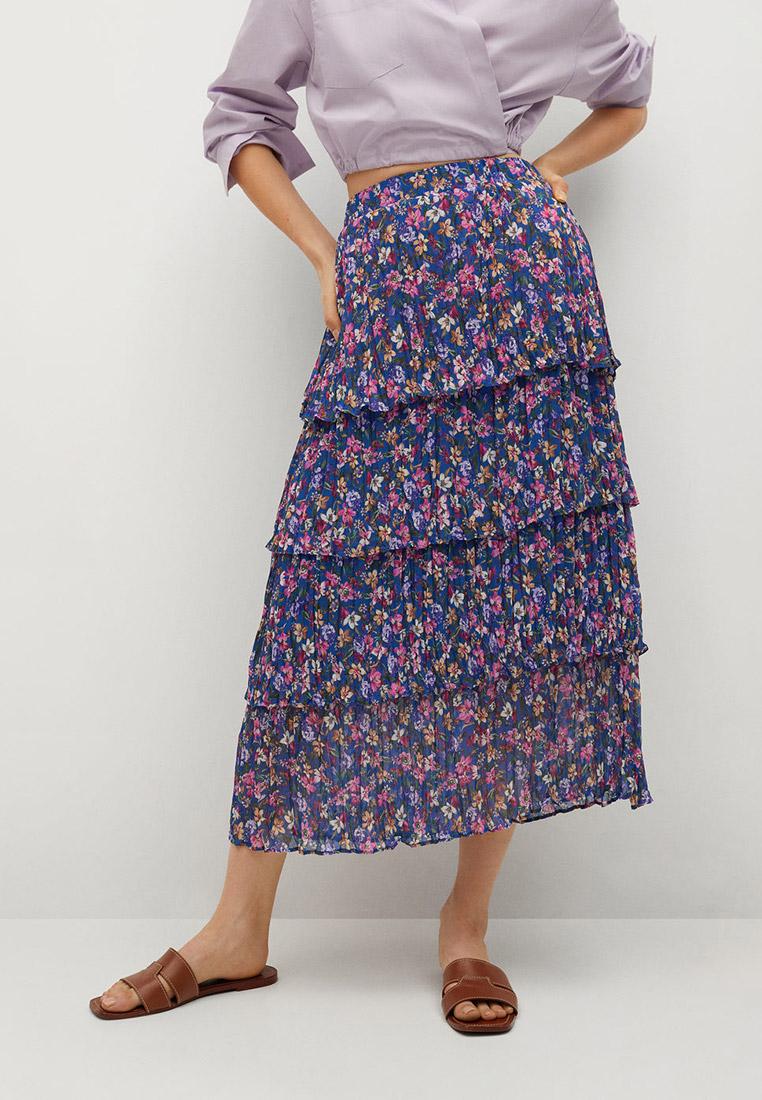 Широкая юбка Mango (Манго) 87057136