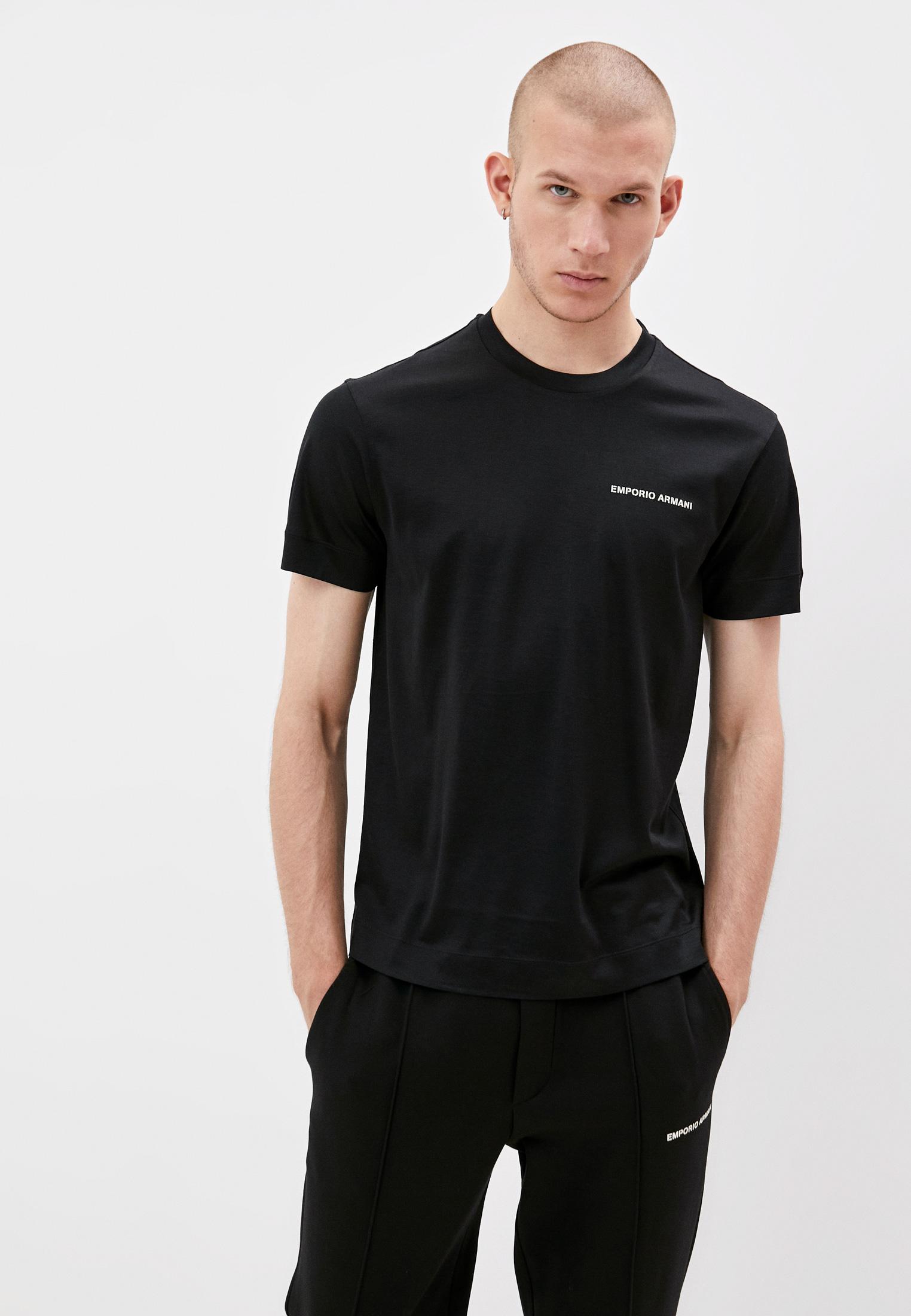 Мужская футболка Emporio Armani (Эмпорио Армани) 6K1T70 1JUVZ