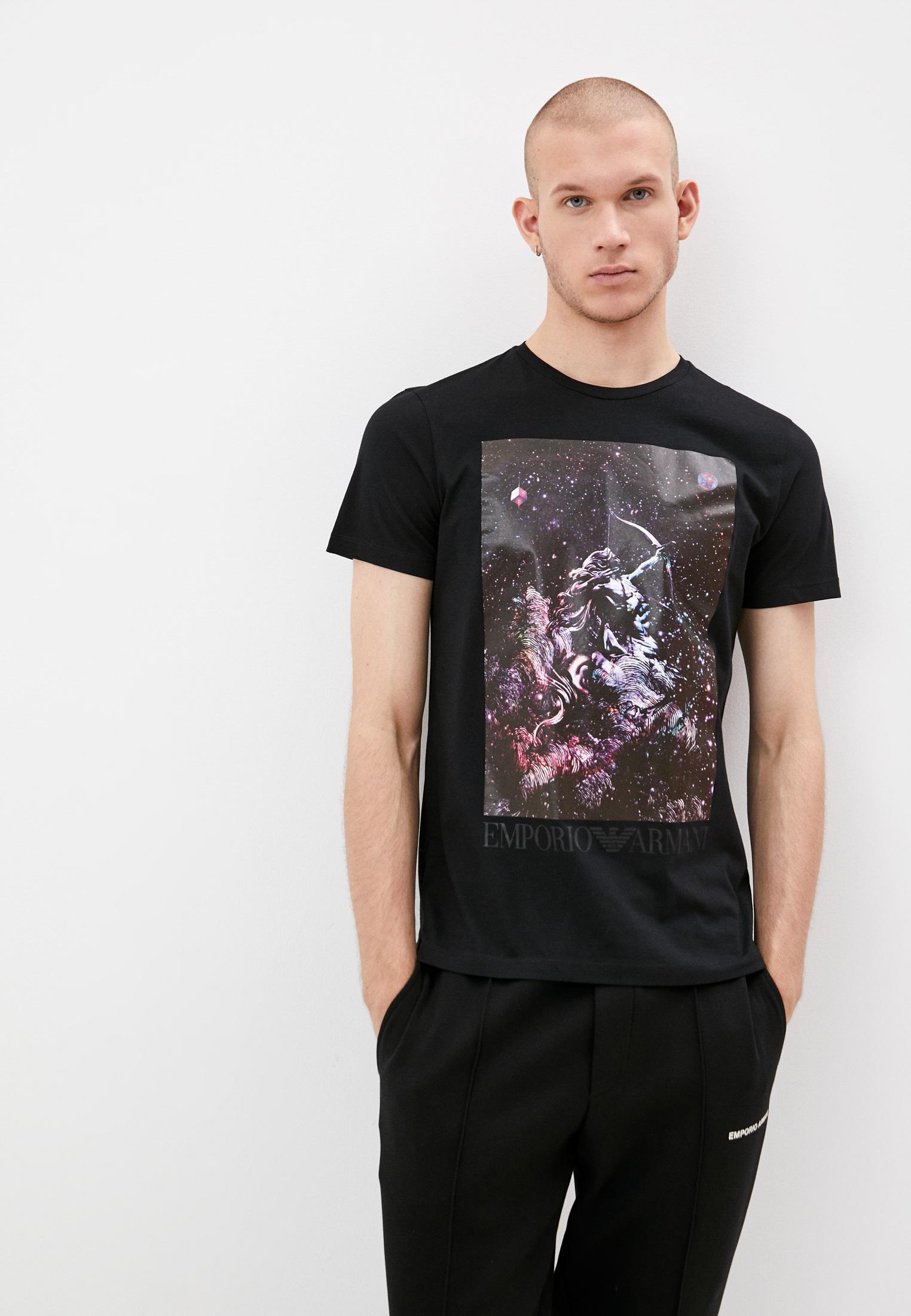 Мужская футболка Emporio Armani (Эмпорио Армани) 6K1T8P 1JQ4Z