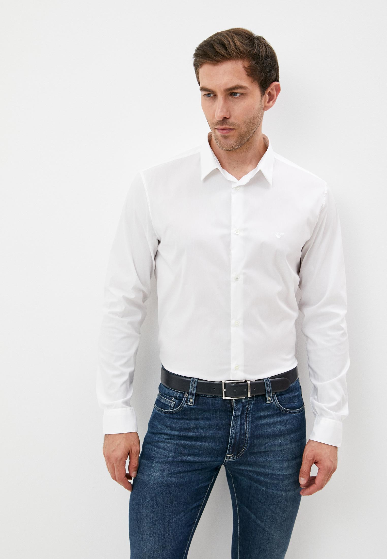 Рубашка с длинным рукавом Emporio Armani (Эмпорио Армани) 8N1C09 1NI9Z