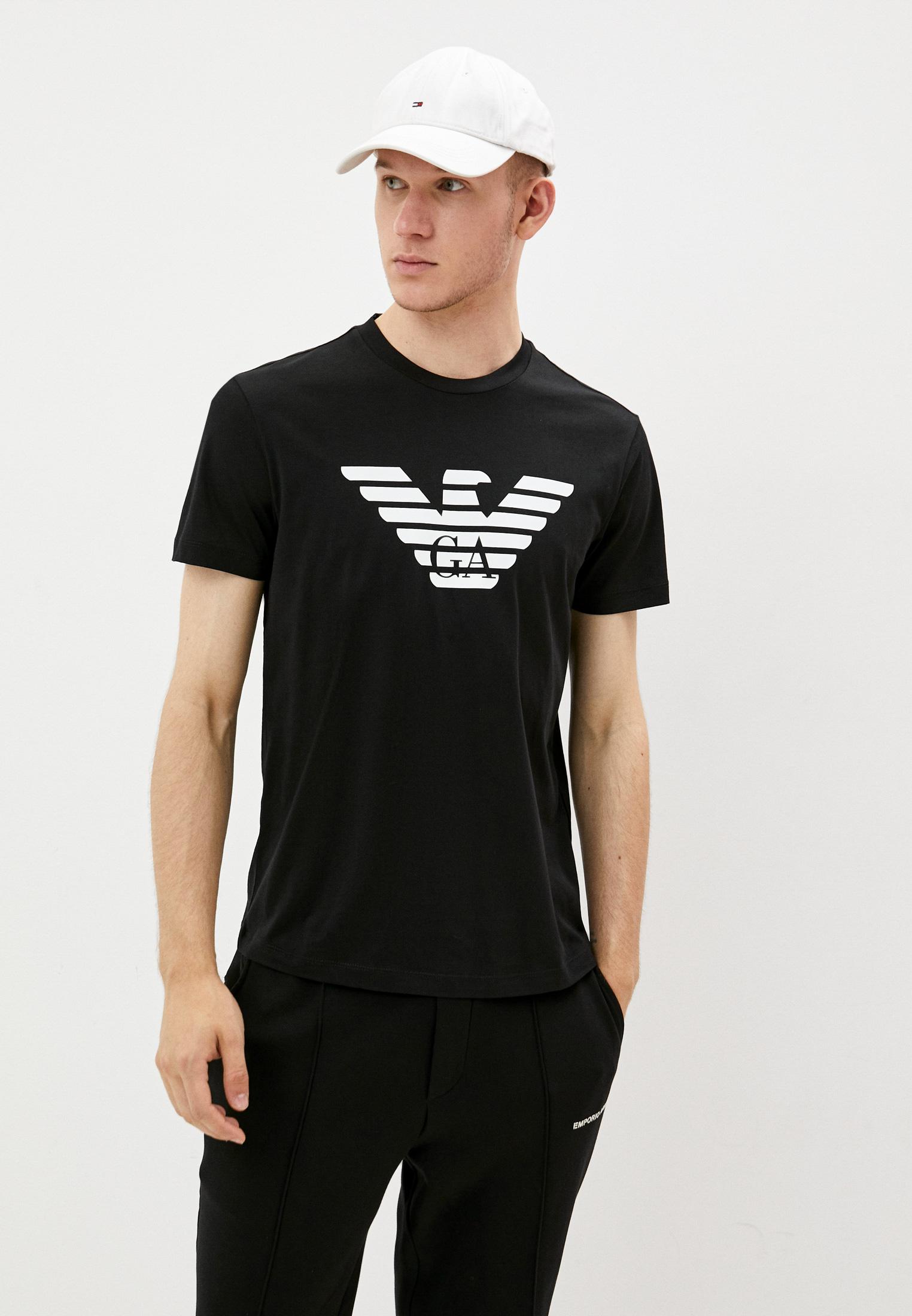 Мужская футболка Emporio Armani (Эмпорио Армани) 8N1TN5 1JPZZ