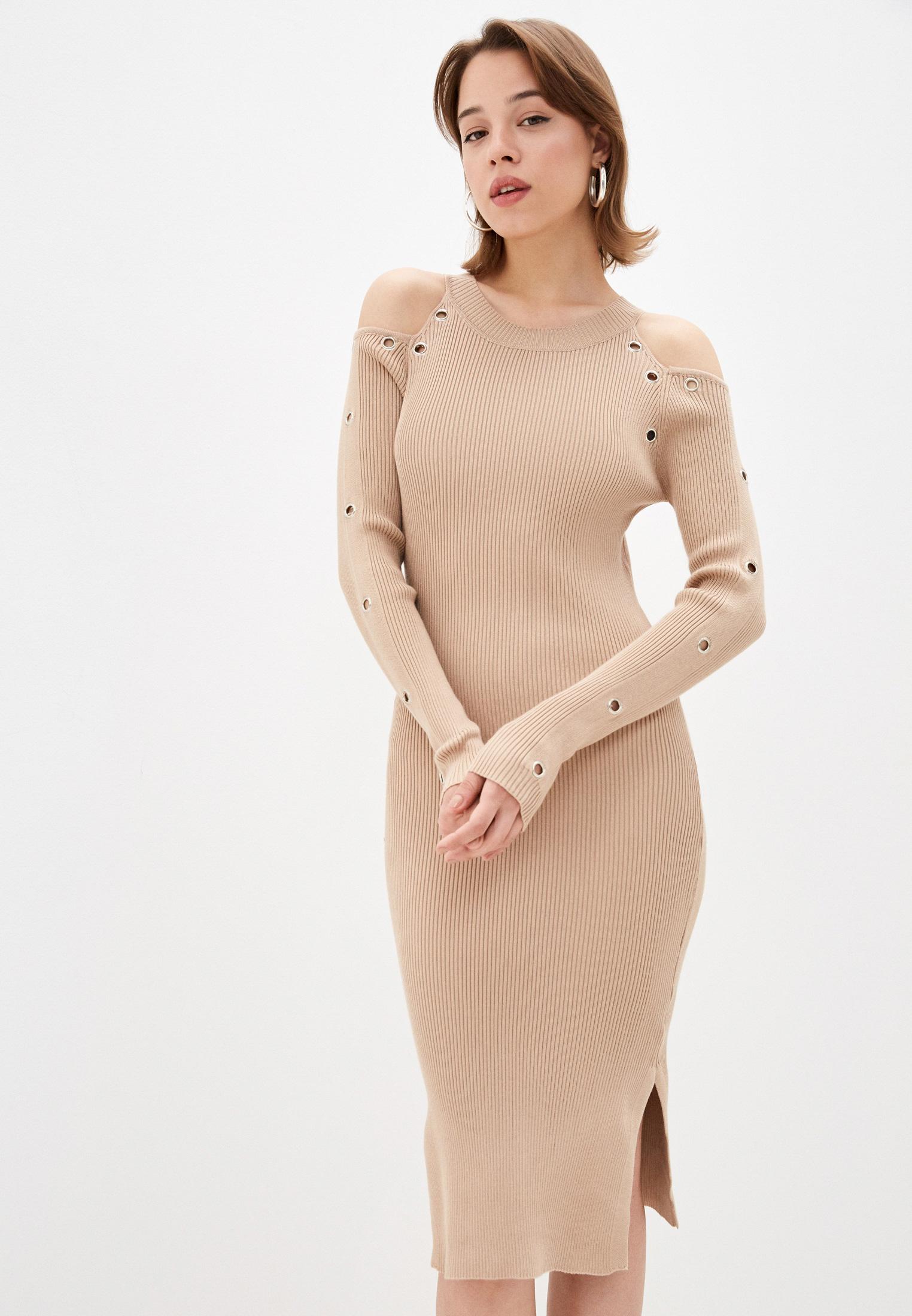 Вязаное платье Goldrai 0214