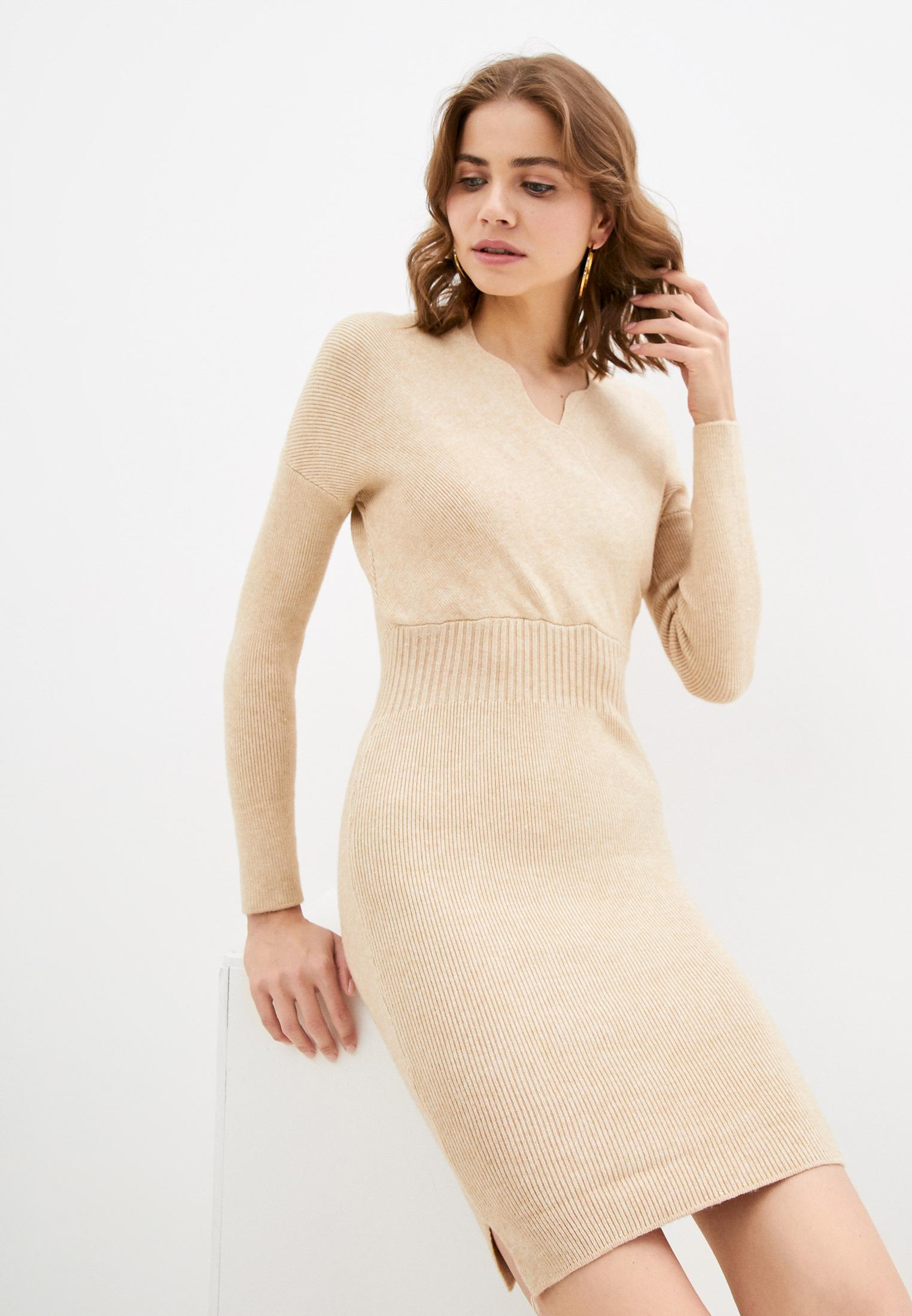 Вязаное платье Goldrai 0289