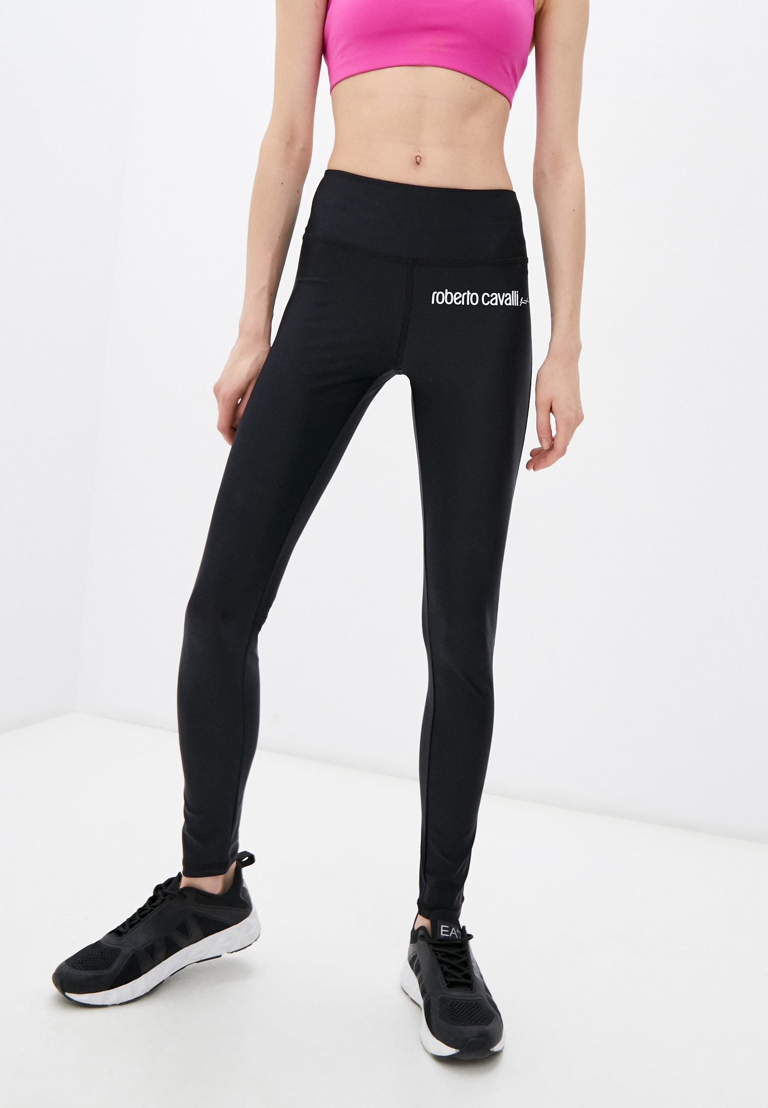 Женские спортивные брюки Roberto Cavalli Sport Тайтсы Roberto Cavalli Sport