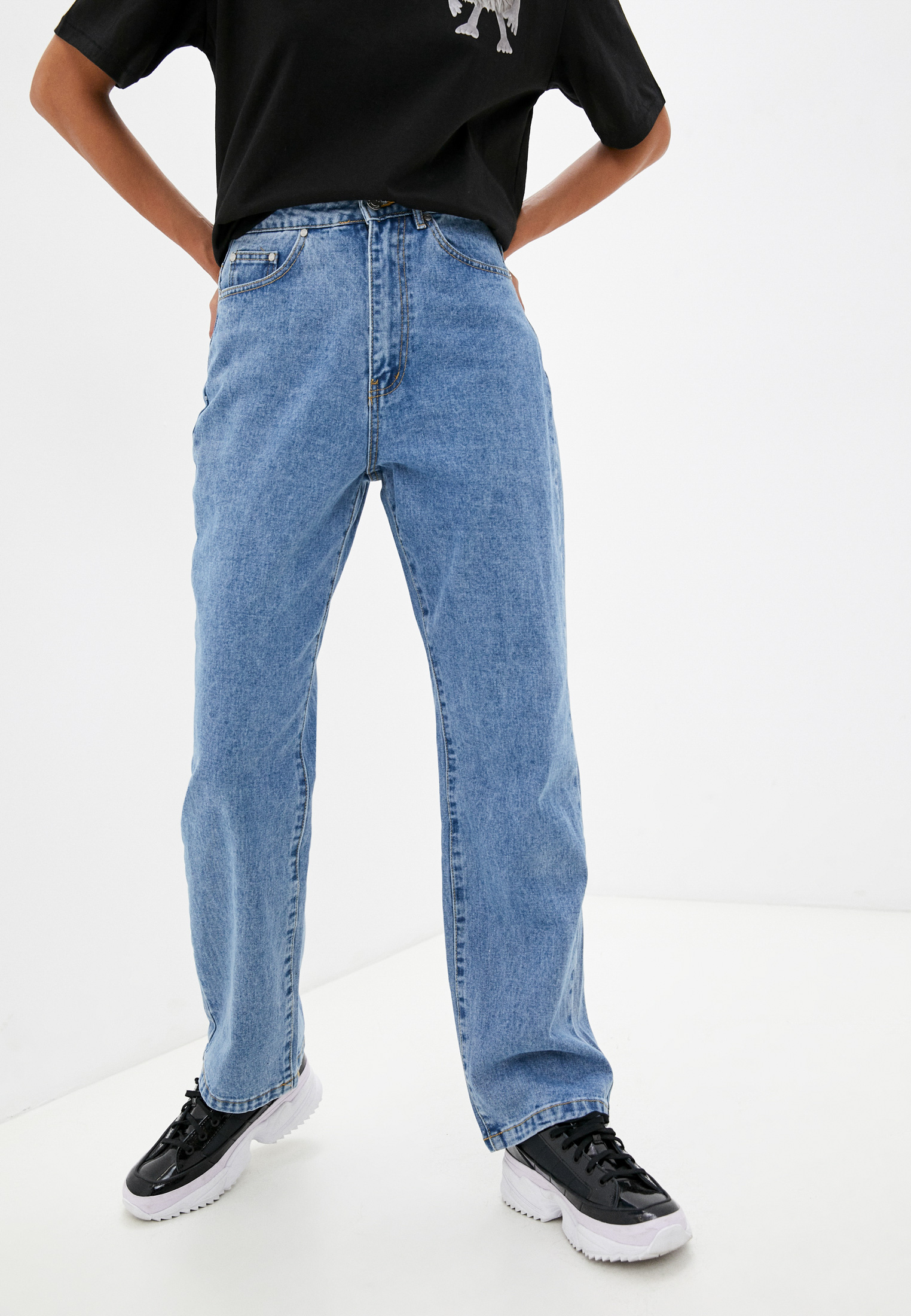 Прямые джинсы MISSGUIDED G1807070