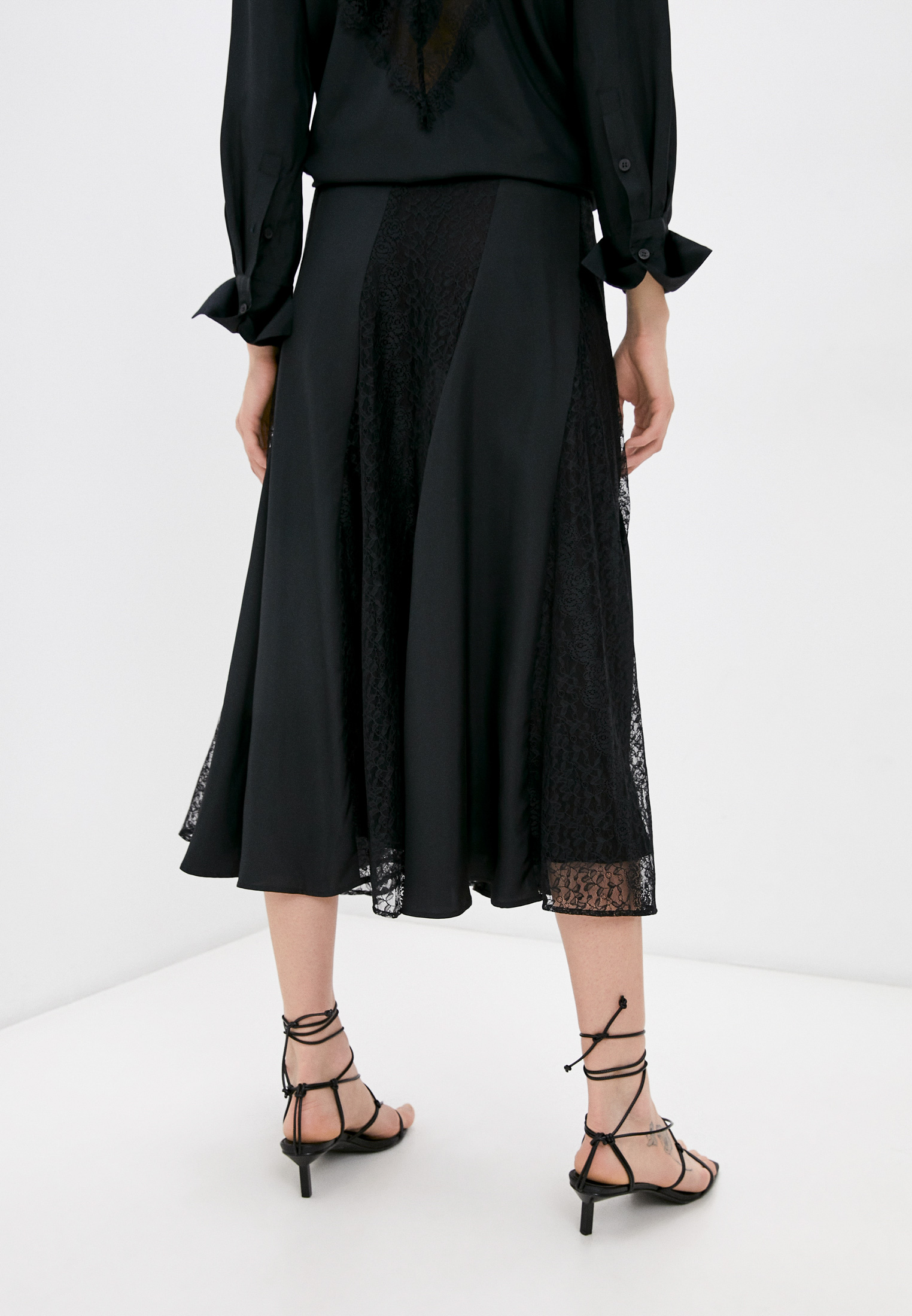 Широкая юбка By Malene Birger Q69731007: изображение 4