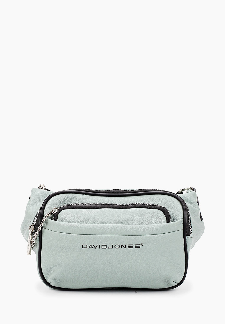 Поясная сумка David Jones (Дэвид Джонс) 6529-1_зеленый