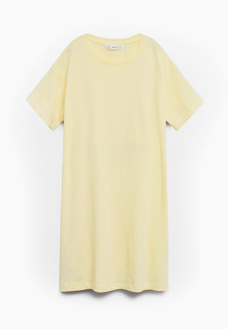 Повседневное платье Mango Kids (Манго Кидс) 17020252