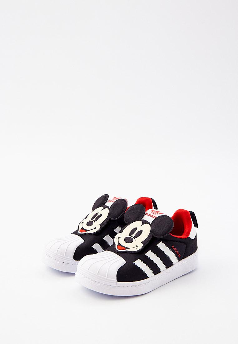 Кеды для мальчиков Adidas Originals (Адидас Ориджиналс) Q46299: изображение 2