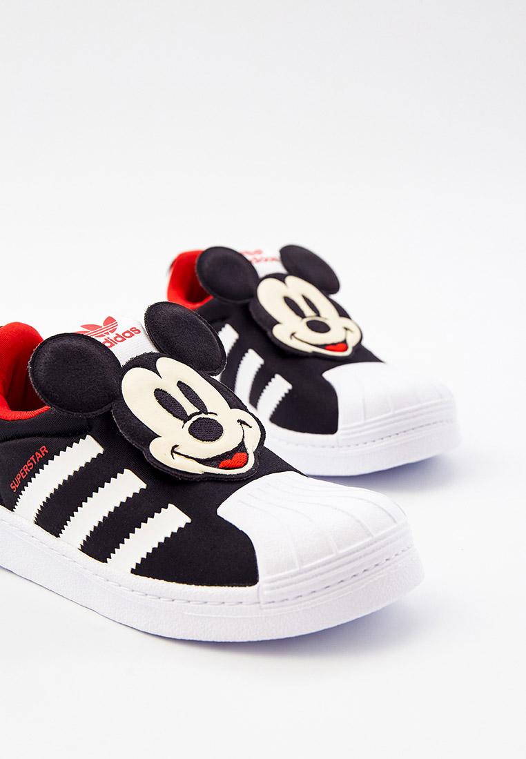 Кеды для мальчиков Adidas Originals (Адидас Ориджиналс) Q46299: изображение 3